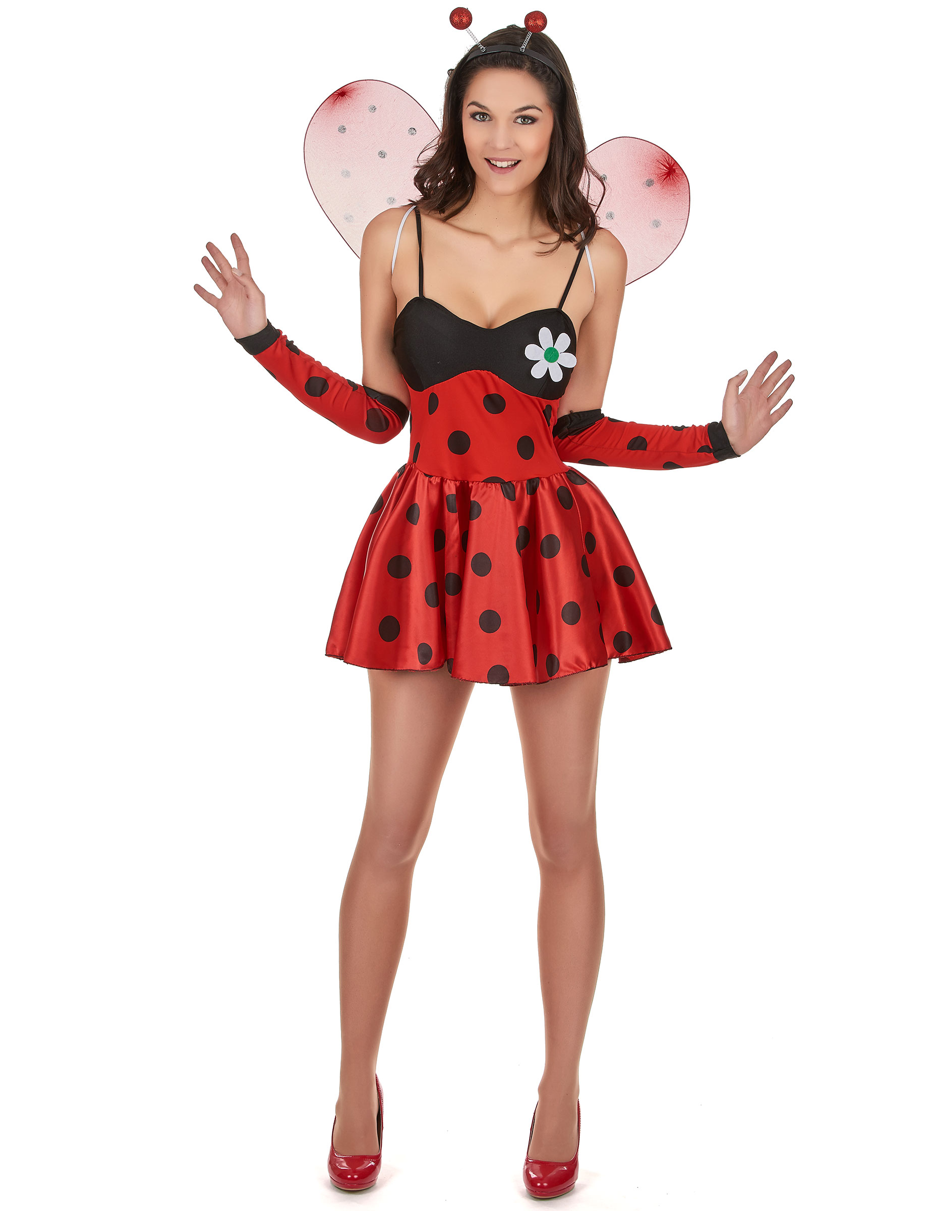 Kostuums Dames.Sexy Lieveheersbeestje Kostuum Voor Dames