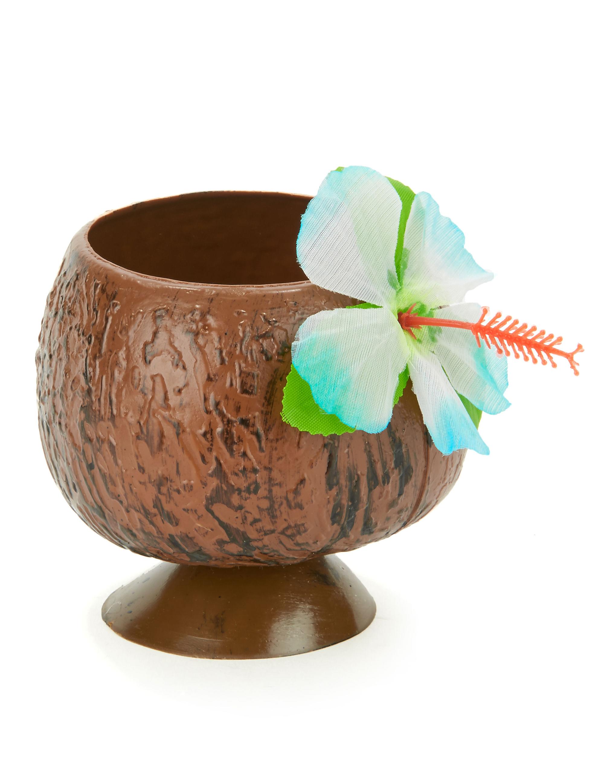Hawaii kokosnoot beker decoratie en goedkope for Goedkope decoratie