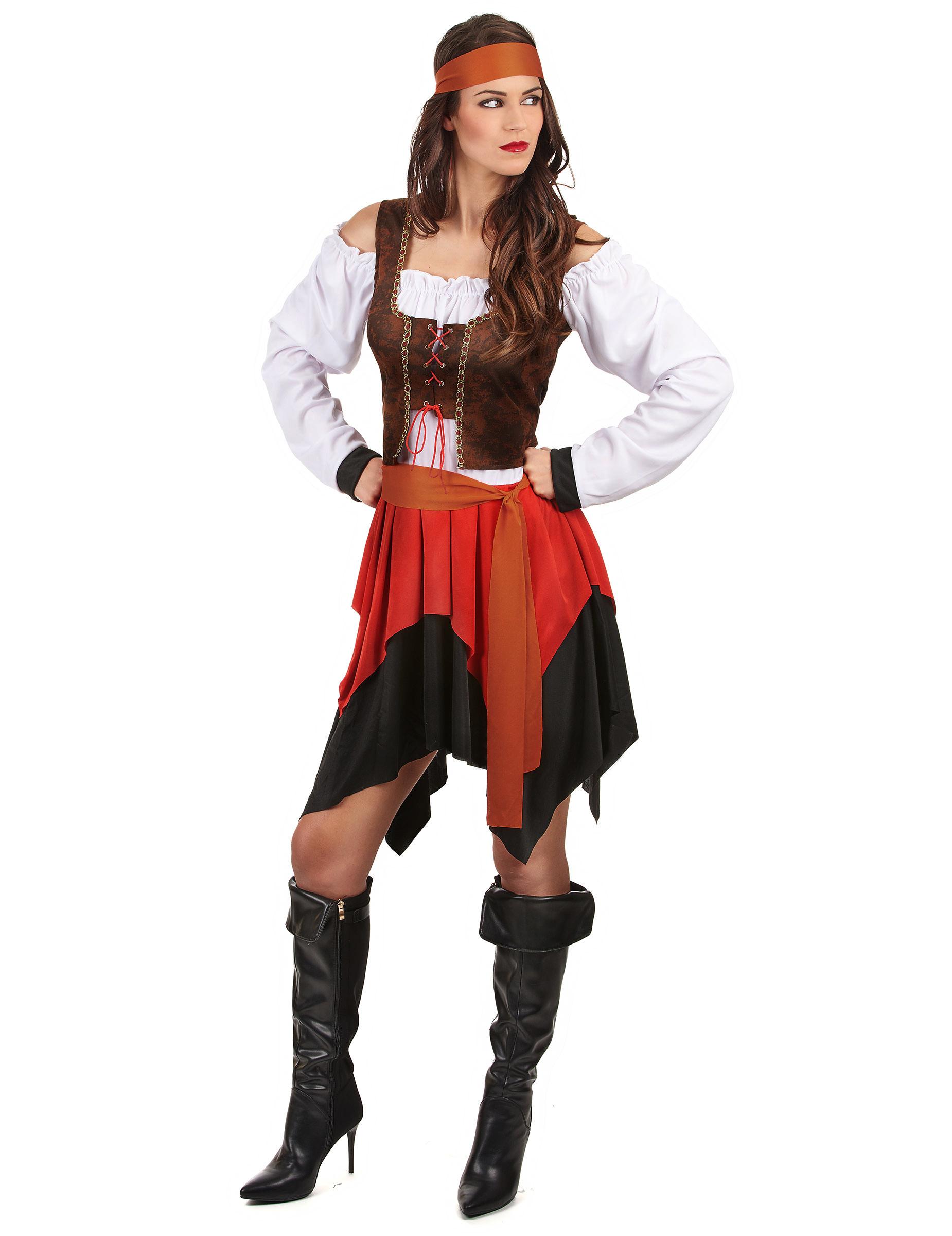 654b9ab7432 Originele piraten carnavalskleding voor dames - Vegaoo.nl
