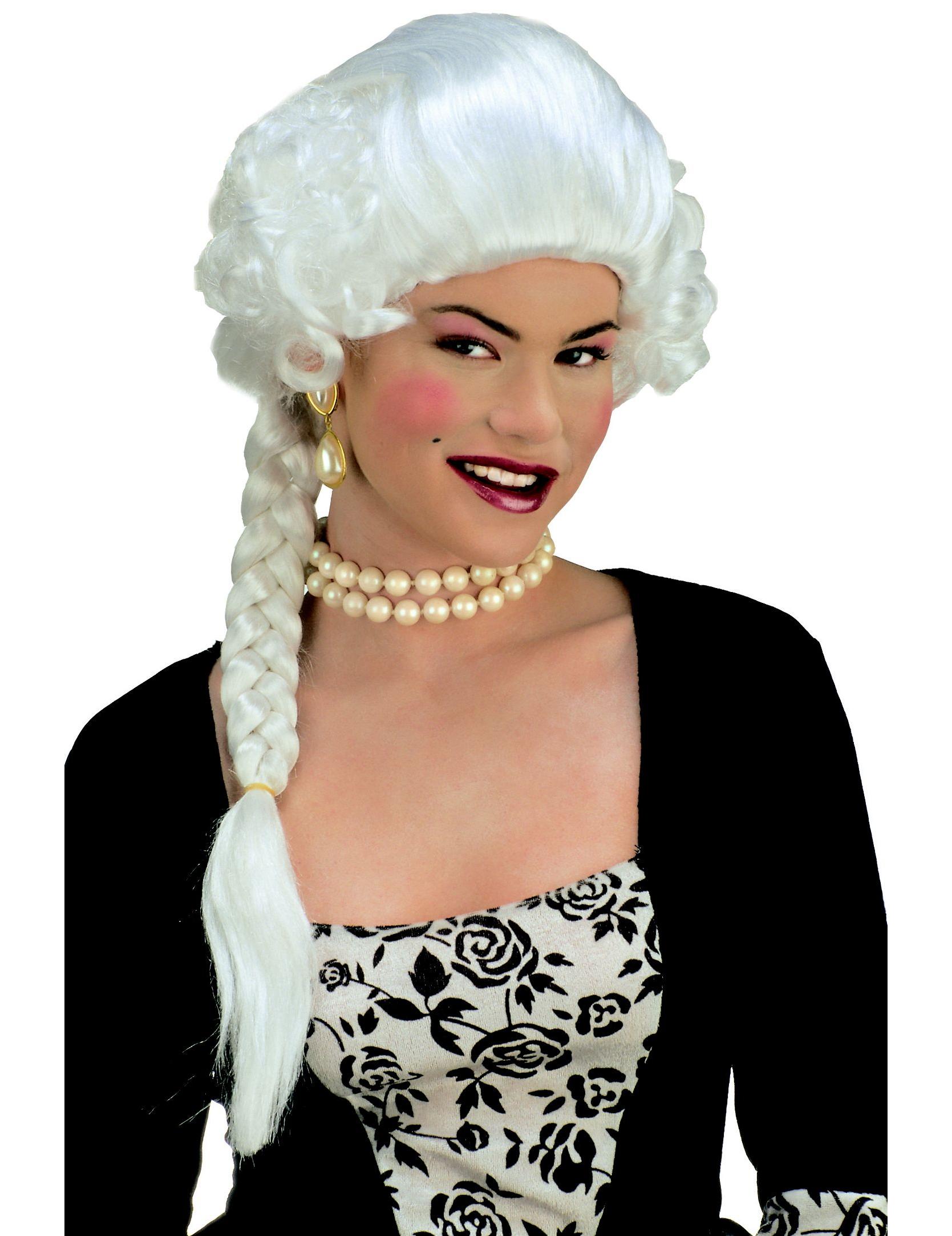 hertoginnenpruik voor dames pruiken en goedkope carnavalskleding vegaoo. Black Bedroom Furniture Sets. Home Design Ideas