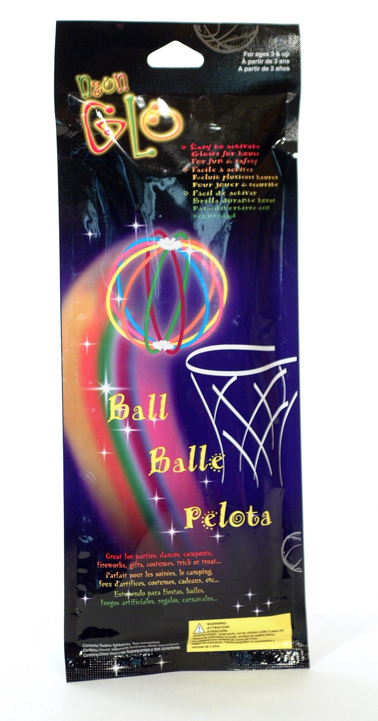 Lichtgevende bal decoratie en goedkope carnavalskleding for Goedkope decoratie