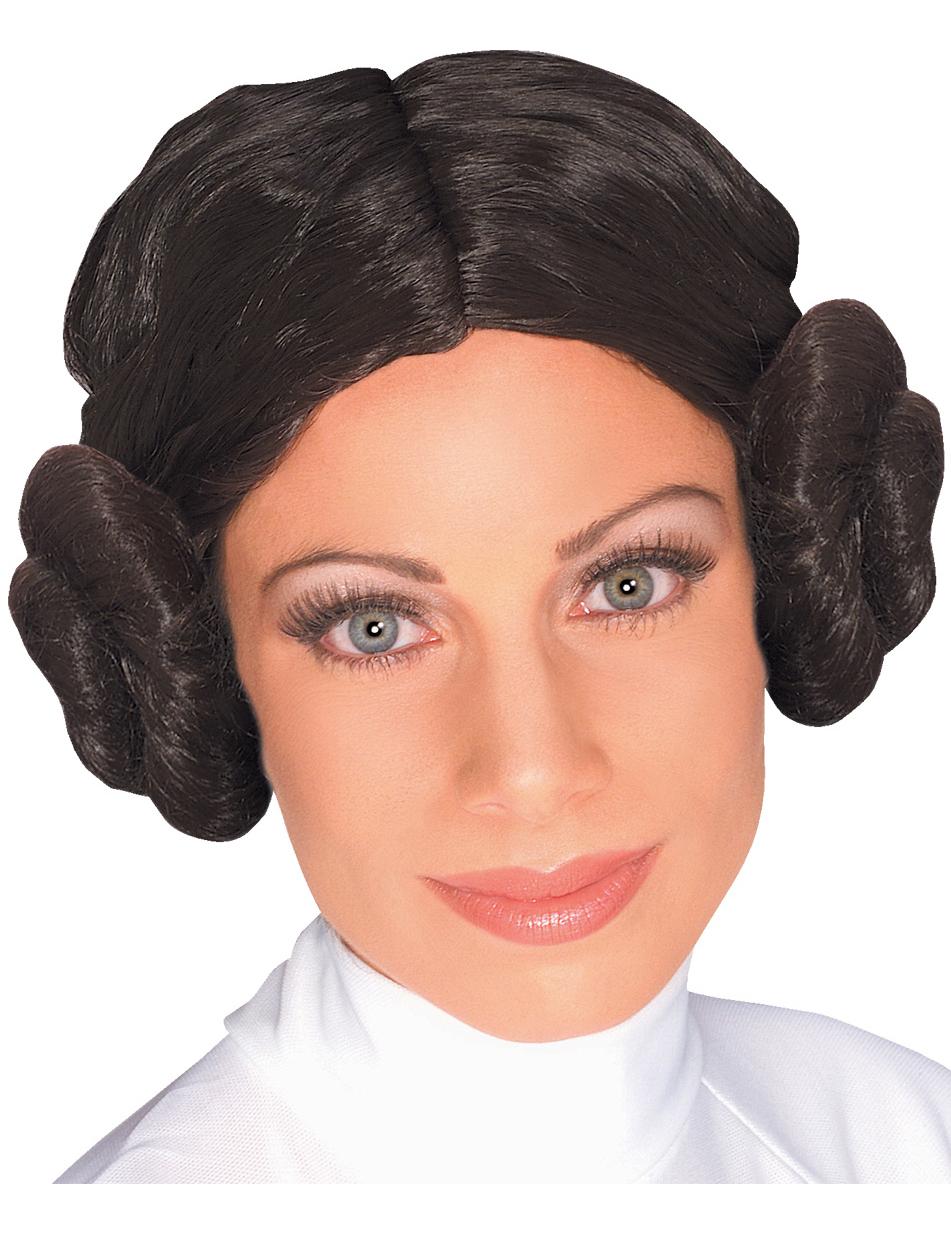 Zeer Prinses Leia Star Wars™ pruik voor dames: Pruiken,en goedkope  MY07