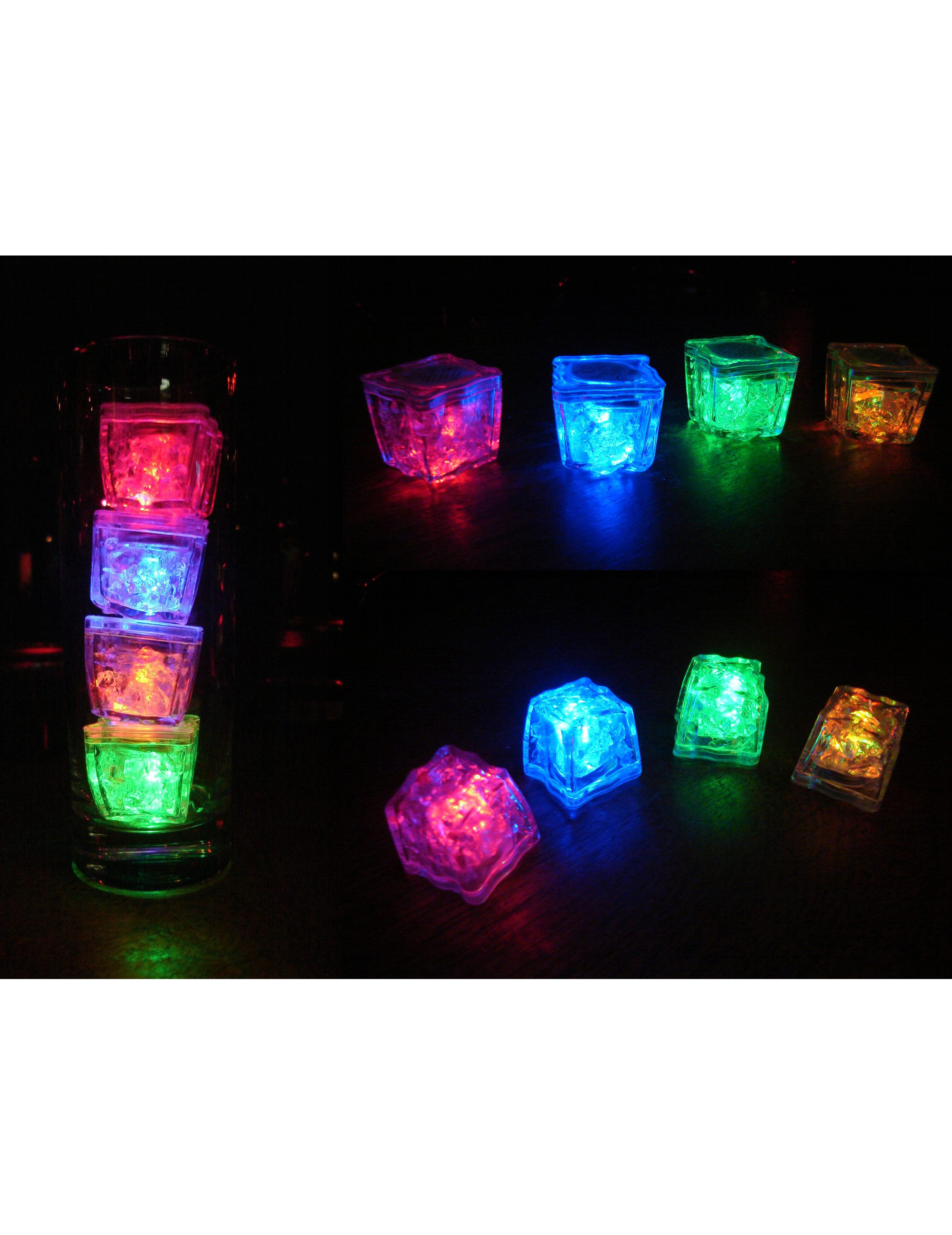 Verlichte ijsblokjes LED: Decoratie,en goedkope carnavalskleding ...