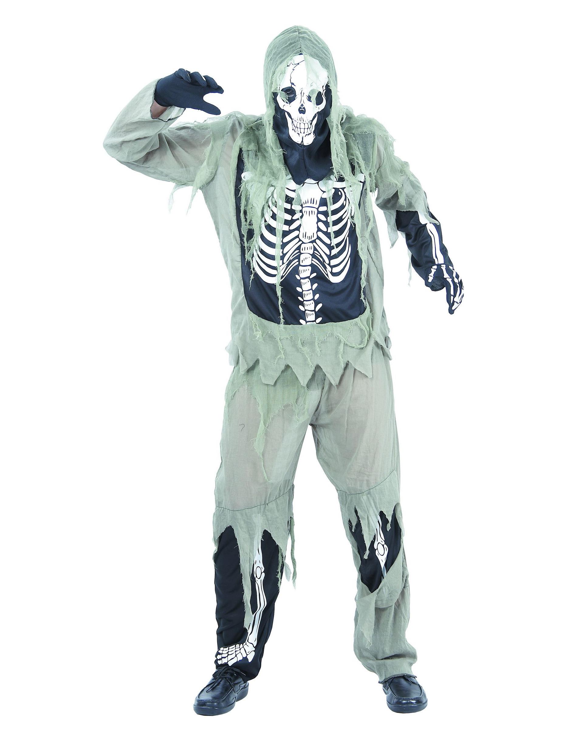 verkleedkostuum voor mannen skelet halloween. Black Bedroom Furniture Sets. Home Design Ideas