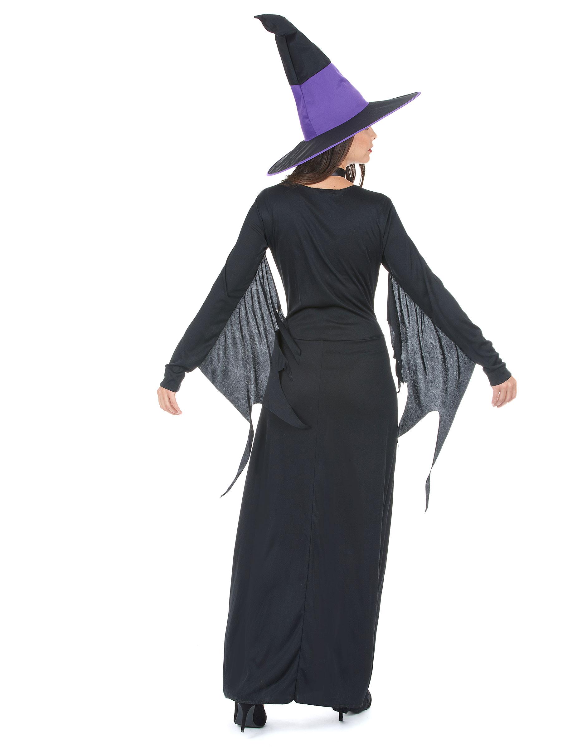 Paarse heksen halloween kostuum voor dames   vegaoo.nl