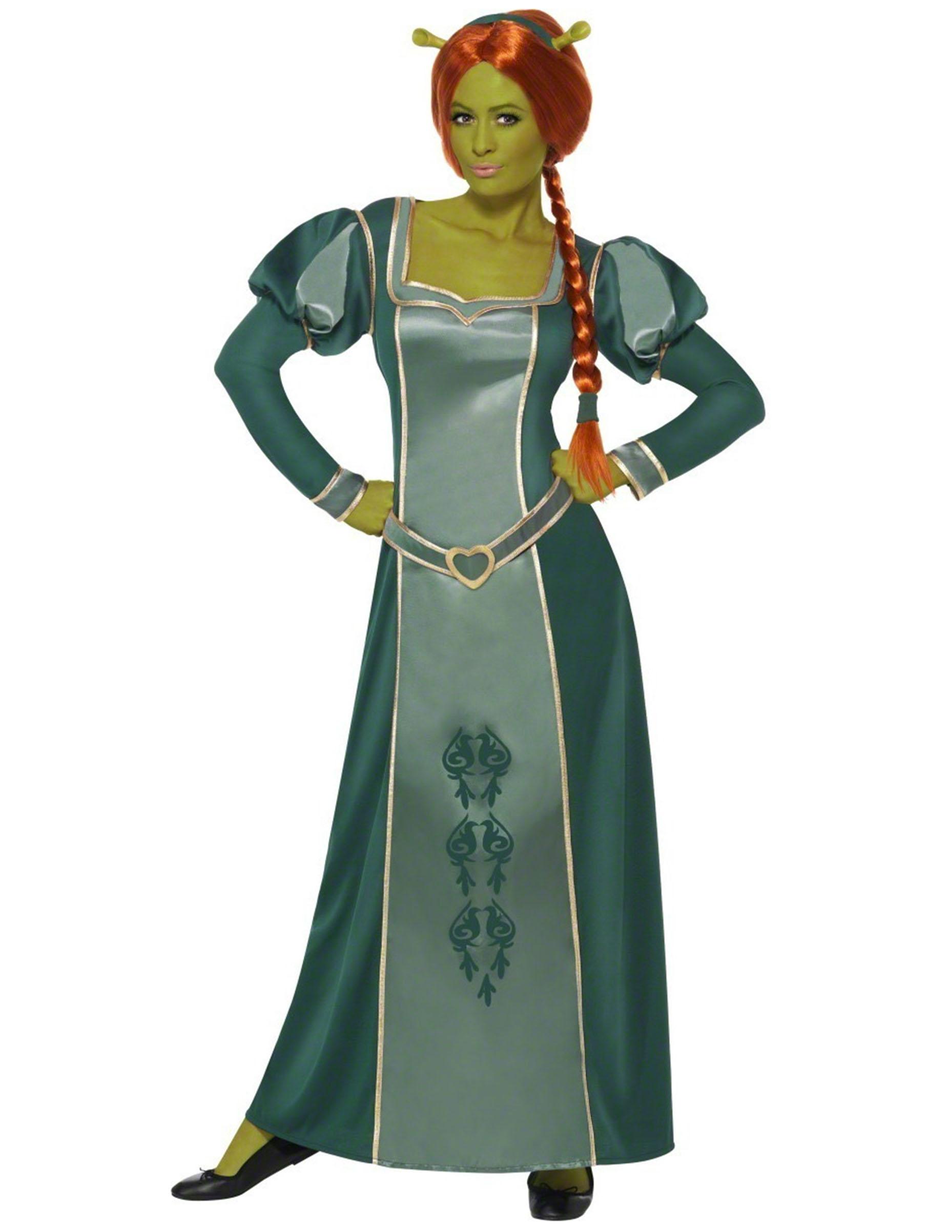 Kostuums Dames.Fiona Shrek Kostuum Voor Dames