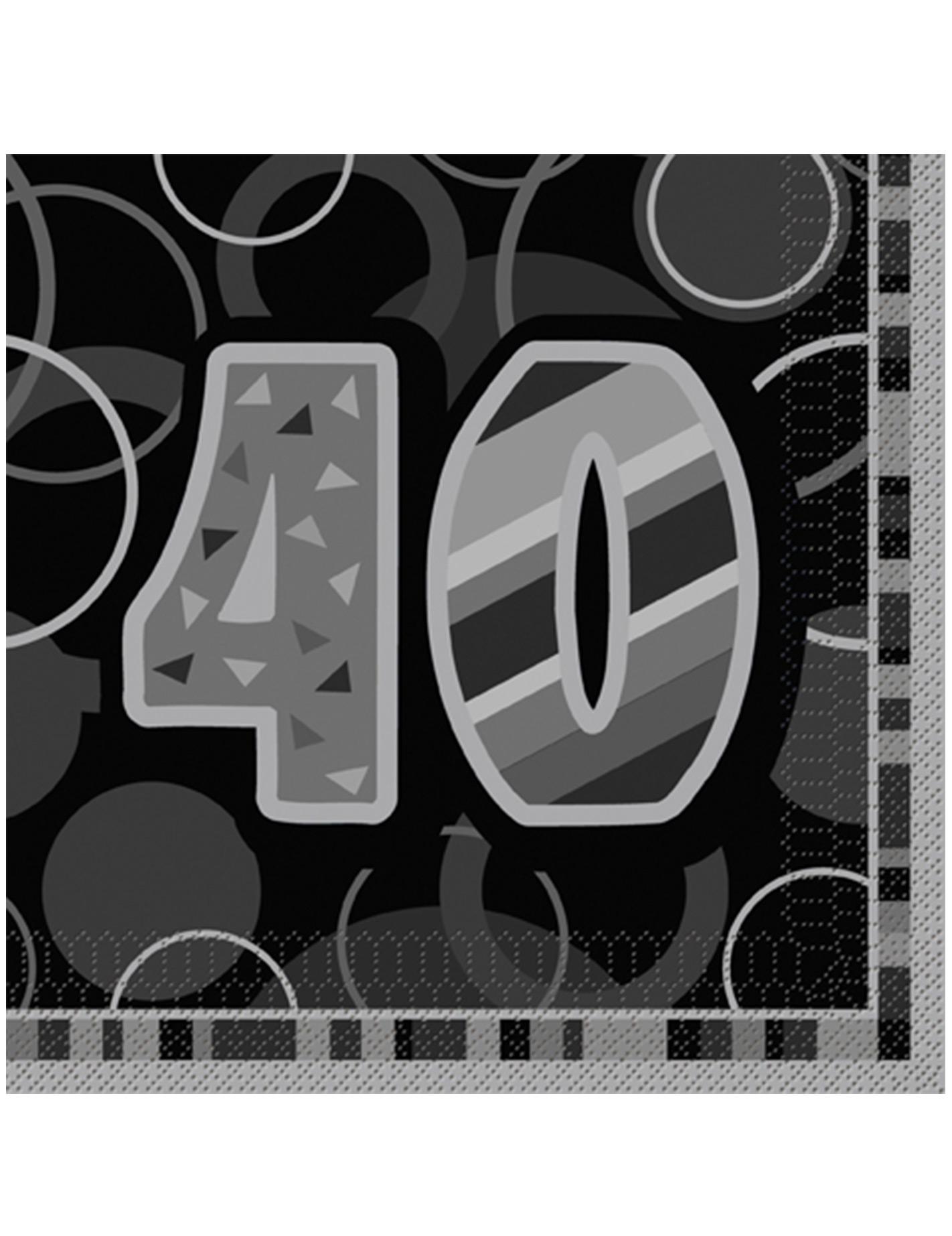 Goedkope Servetten Voor 40ste Verjaardagsfeest