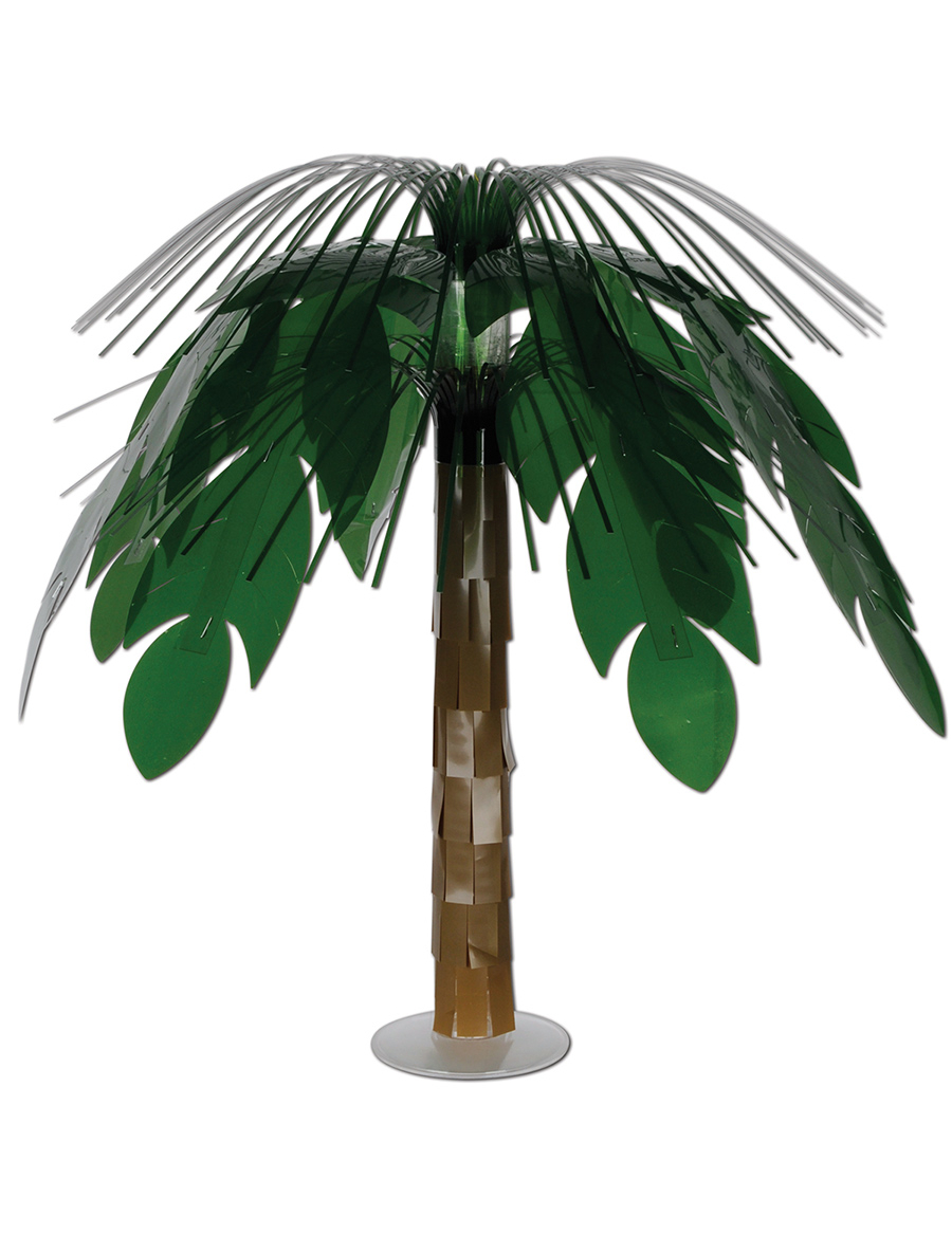 Palmboom tafelstuk decoratie en goedkope carnavalskleding for Faux palmier deco