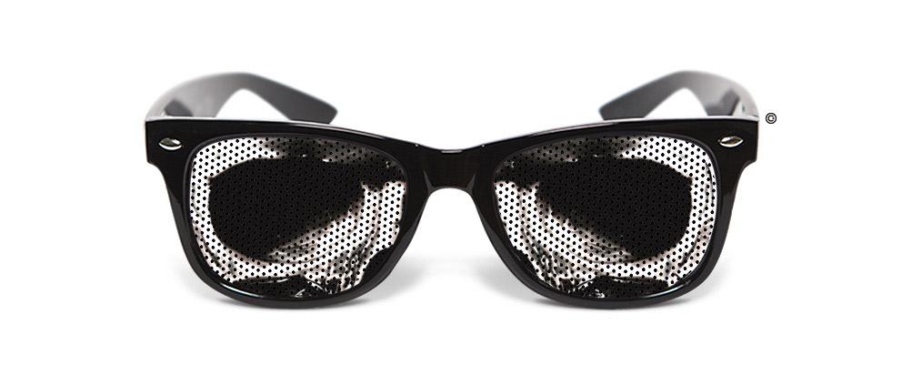 hang de gek uit met deze grappige bril. Black Bedroom Furniture Sets. Home Design Ideas