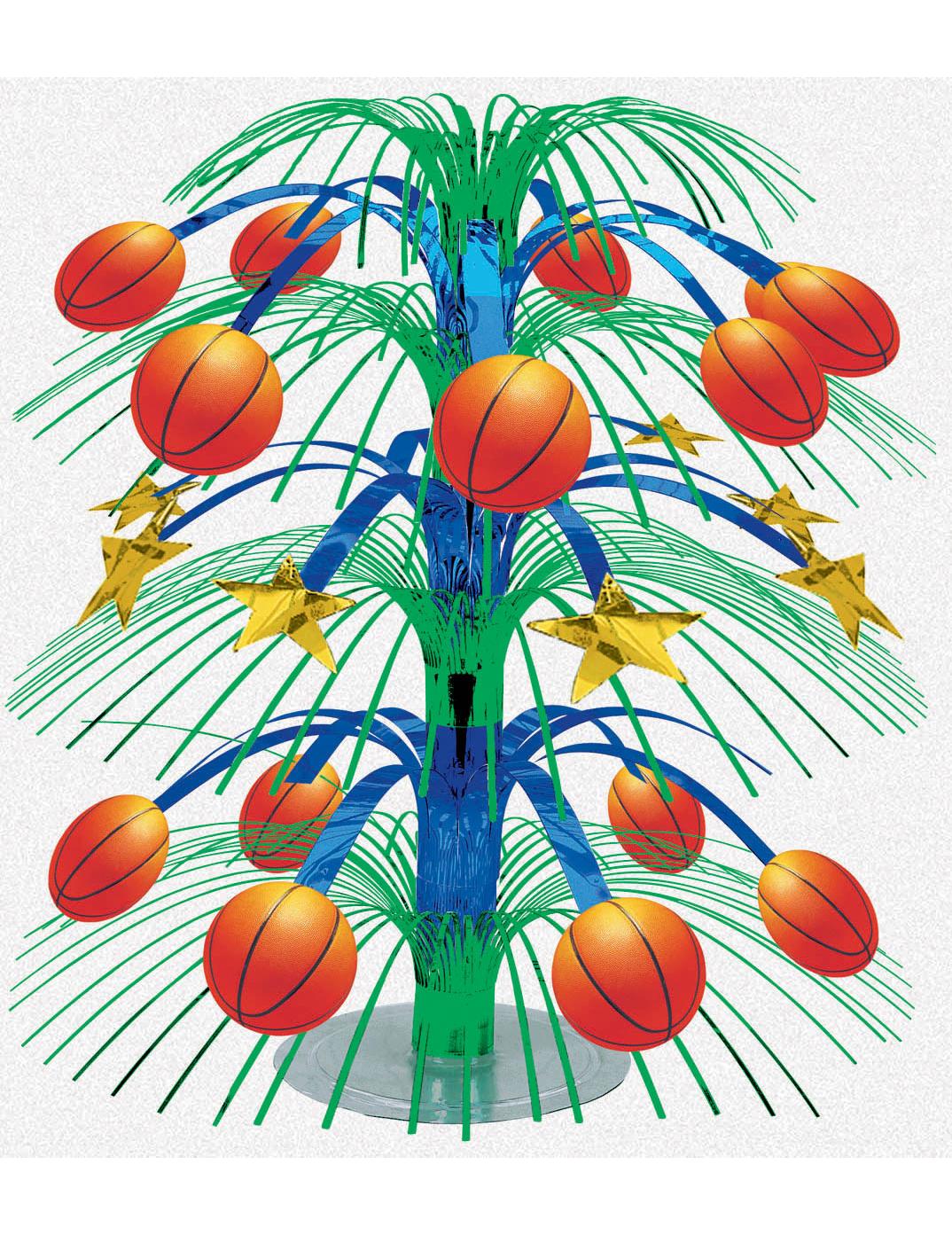 Basketbal tafeldecoratie decoratie en goedkope for Goedkope decoratie