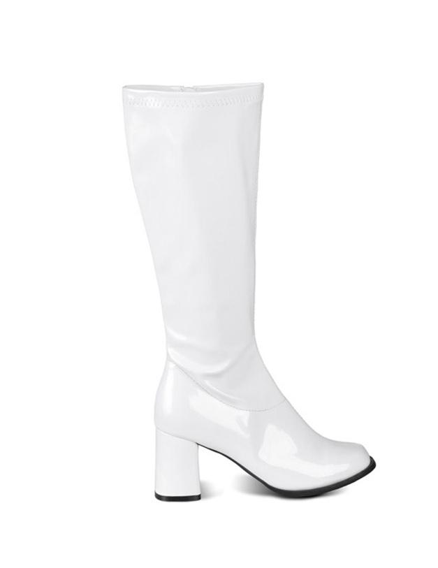 witte dames laarzen
