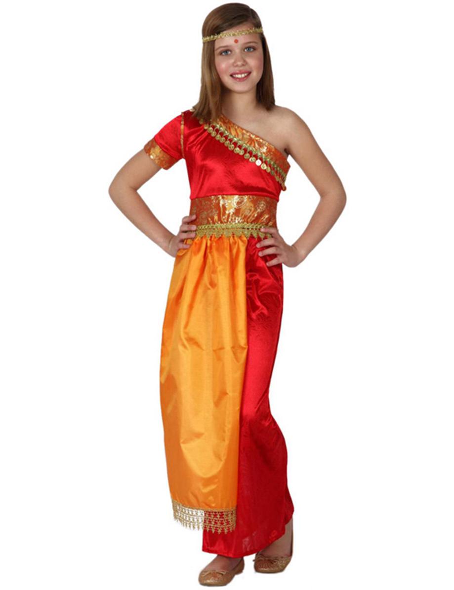 feest Indiaas kostuum in Texel