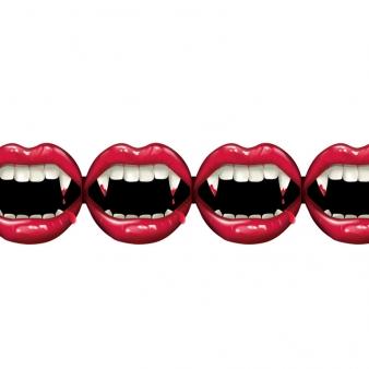 Geliefde Vampier tanden slingers: Decoratie,en goedkope carnavalskleding &WB41