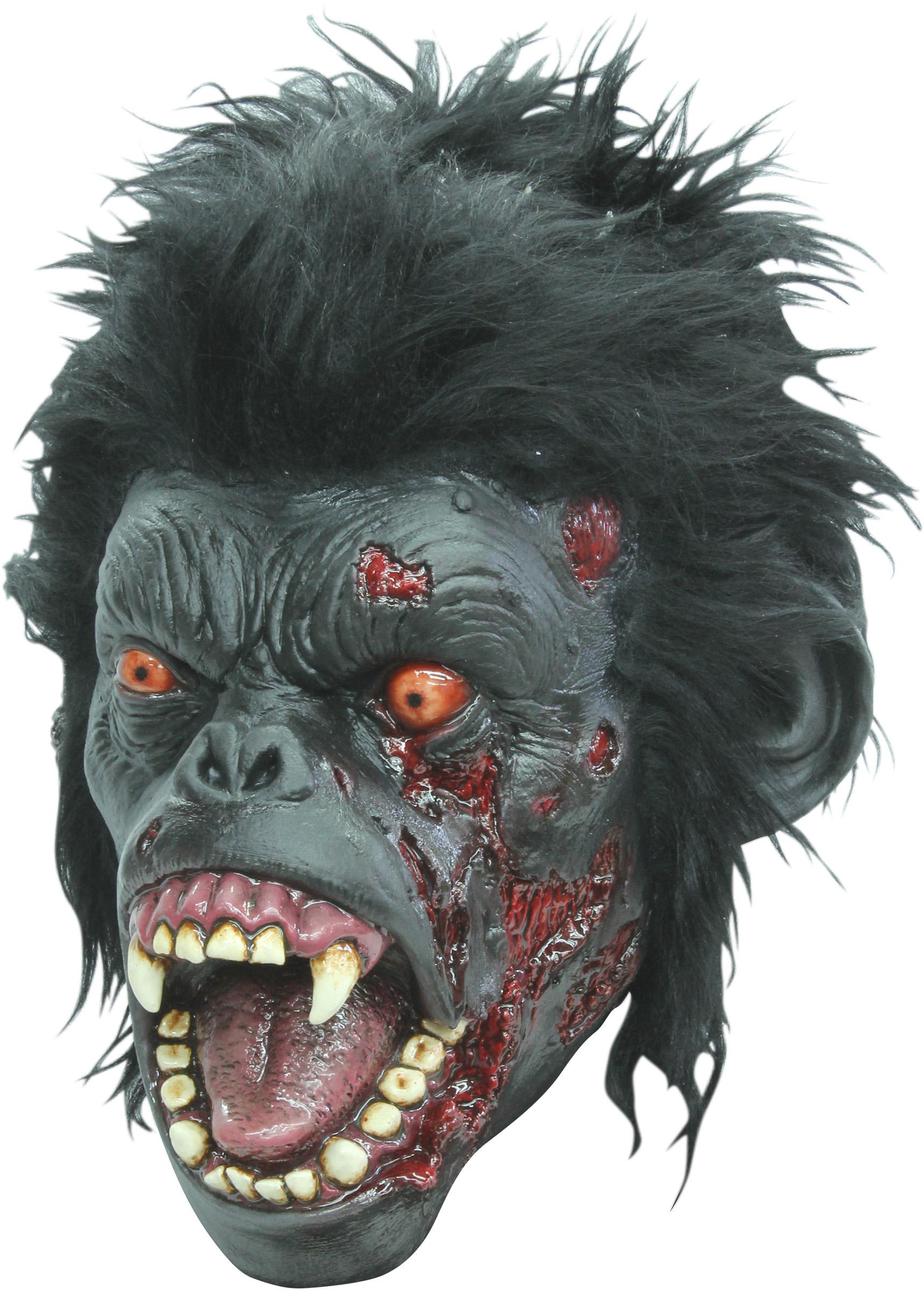 Verschrikkelijke Zombie Aap Masker Voor Het Halloween Feest