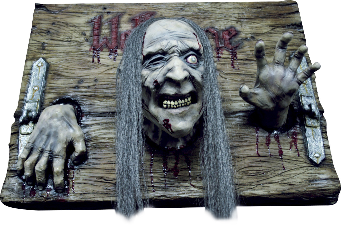 Halloween Decoratie Bestellen.Welkom Zombie Decoratie Plaat Voor Halloween