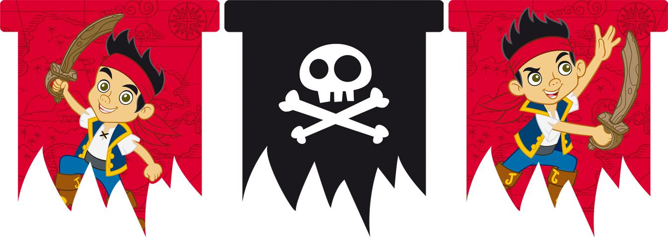 Jake En De Piraten Verjaardag Vlaggenlijn Vegaoo Nl