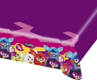 Plastic tafelkleed Furby?