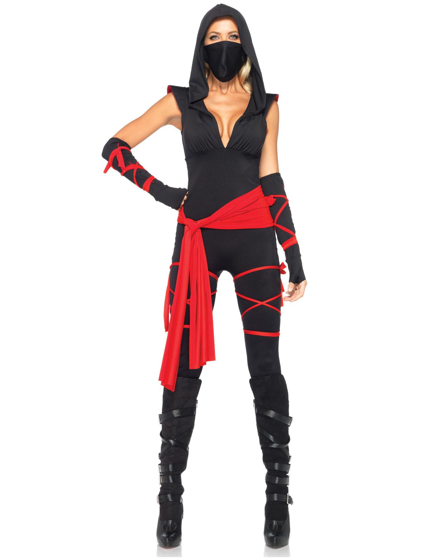 Carnavalskleding Dames Ninja.Sexy Ninja Outfit Voor Dames Volwassenen Kostuums En Goedkope