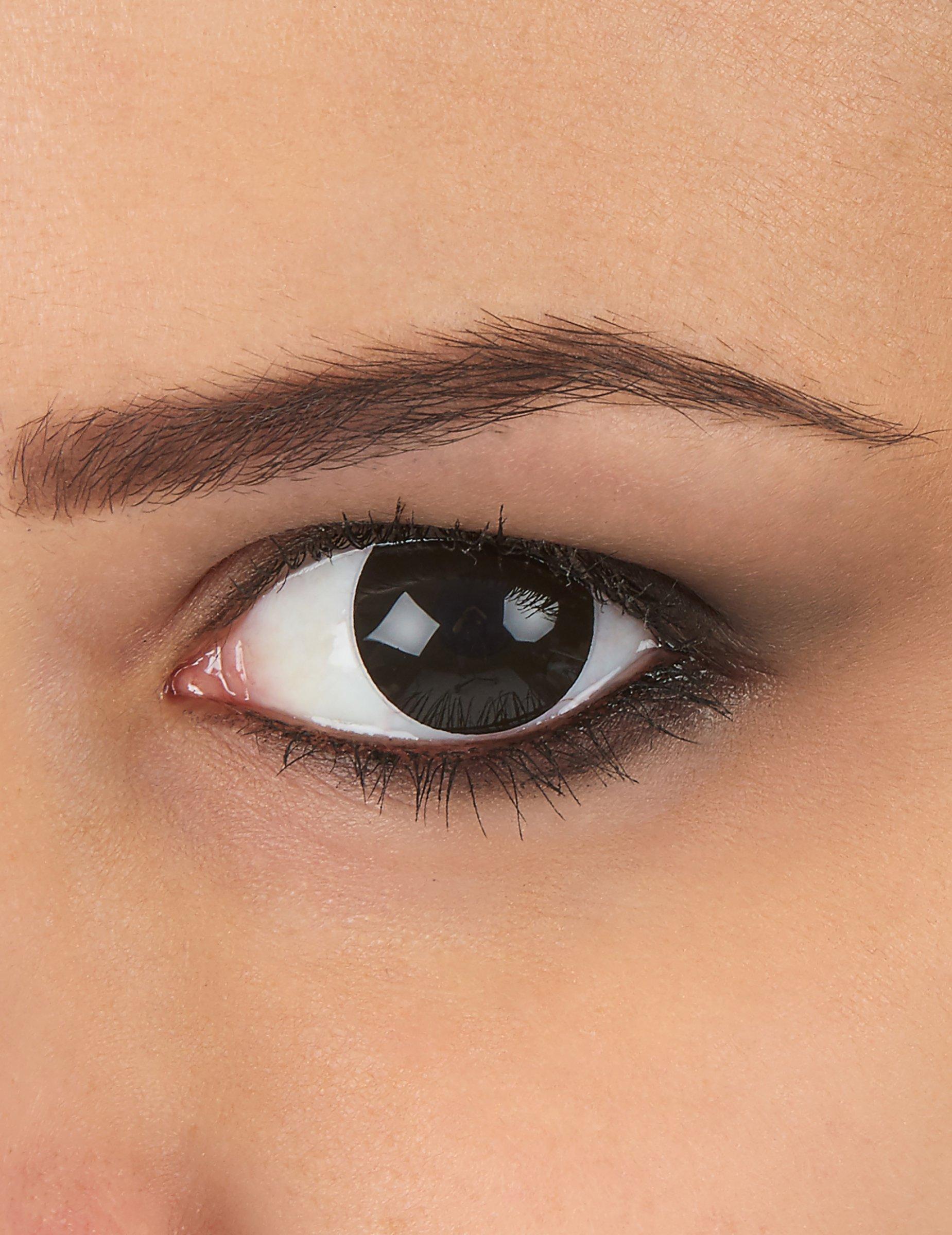 zwarte ogen contactlenzen schminken goedkope