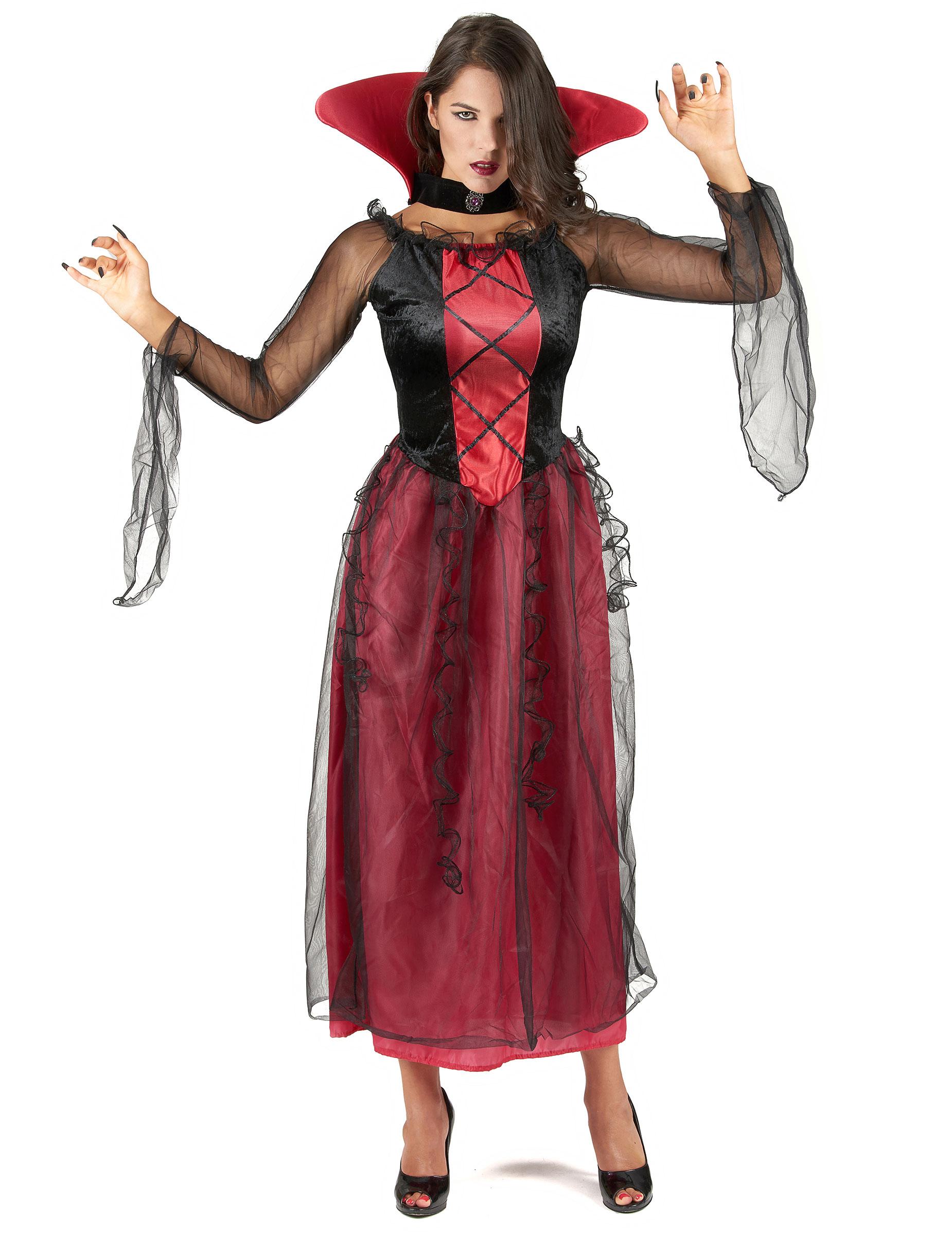 Halloween Kleding Dames.Verkleedkostuum Vampier Voor Dames Halloween Kleding