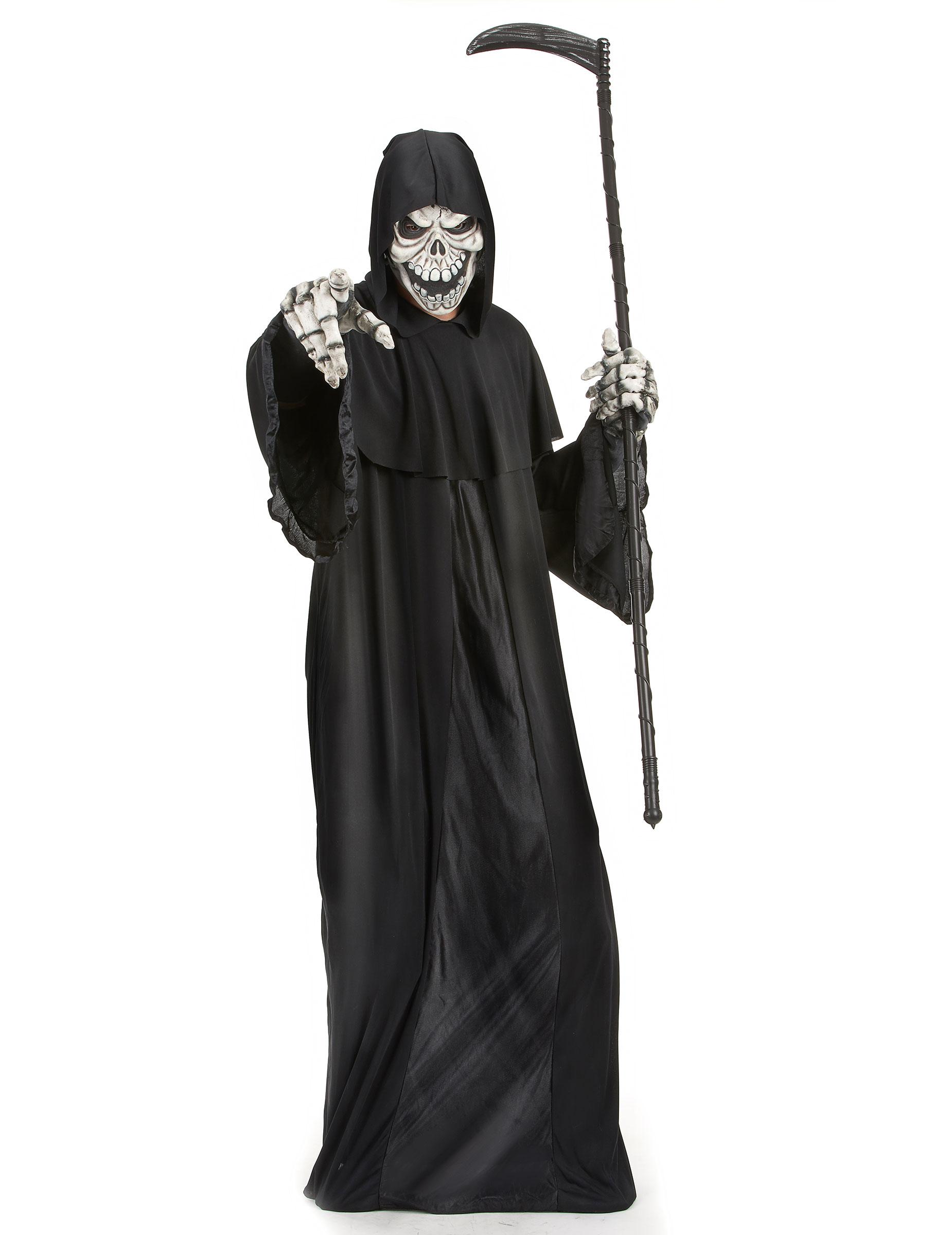 Halloween Kostuum Magere Hein.Magere Hein Kostuum Voor Mannen