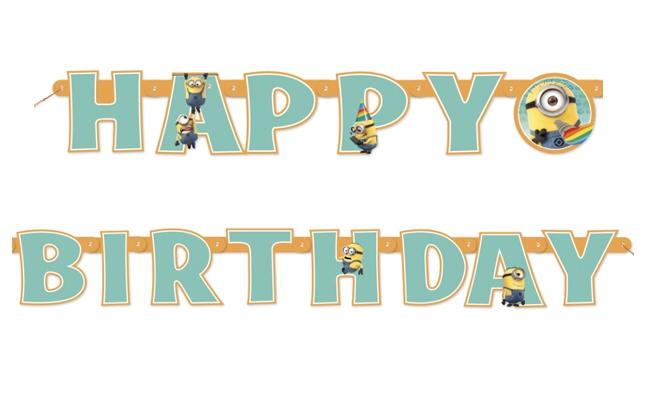 Verjaardag Slinger Van De Minions Decoratie En Goedkope