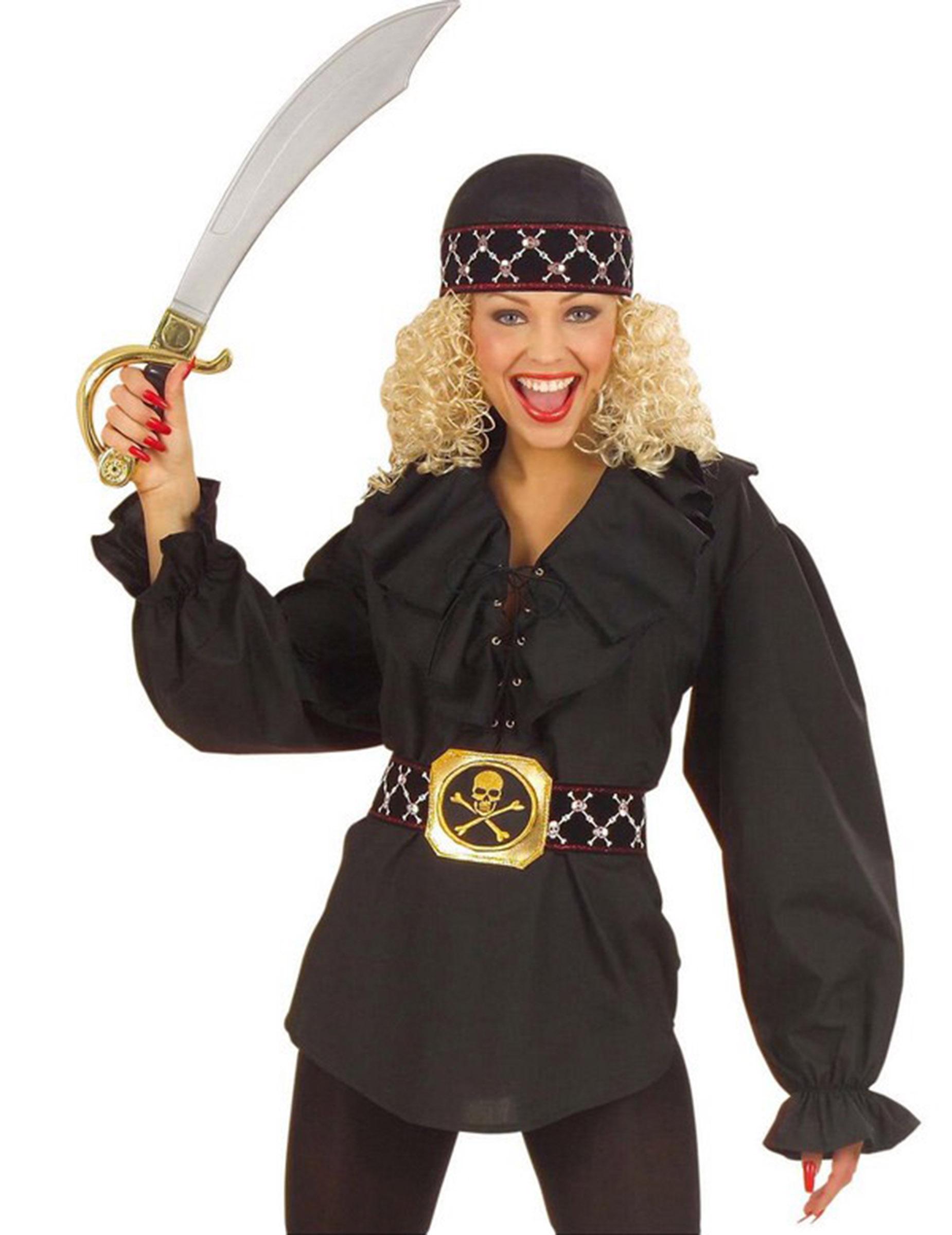 Goedkope VrouwenVolwassenen Piraten Voor Kostuums en Overhemd c4jLAq35R