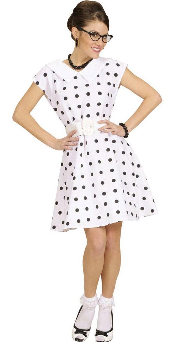 jaren 50, retro jurk voor dames