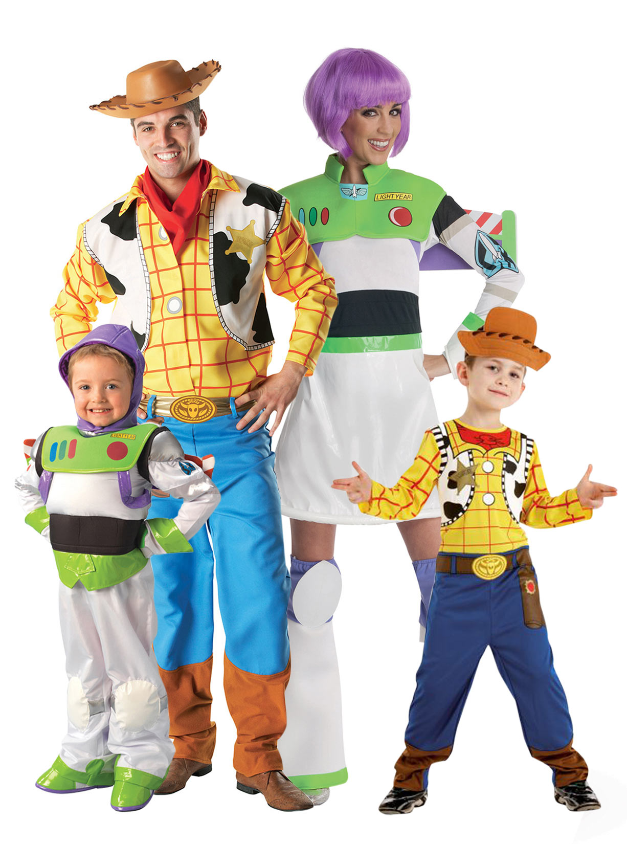 - Toy Story? familiekostuum