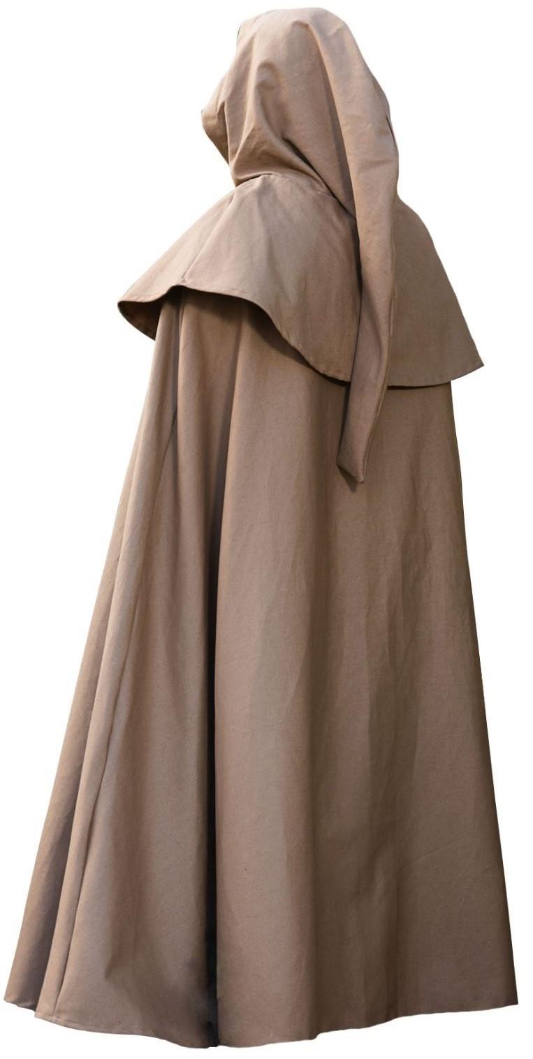 Prachtig middeleeuwse cape voor mannen