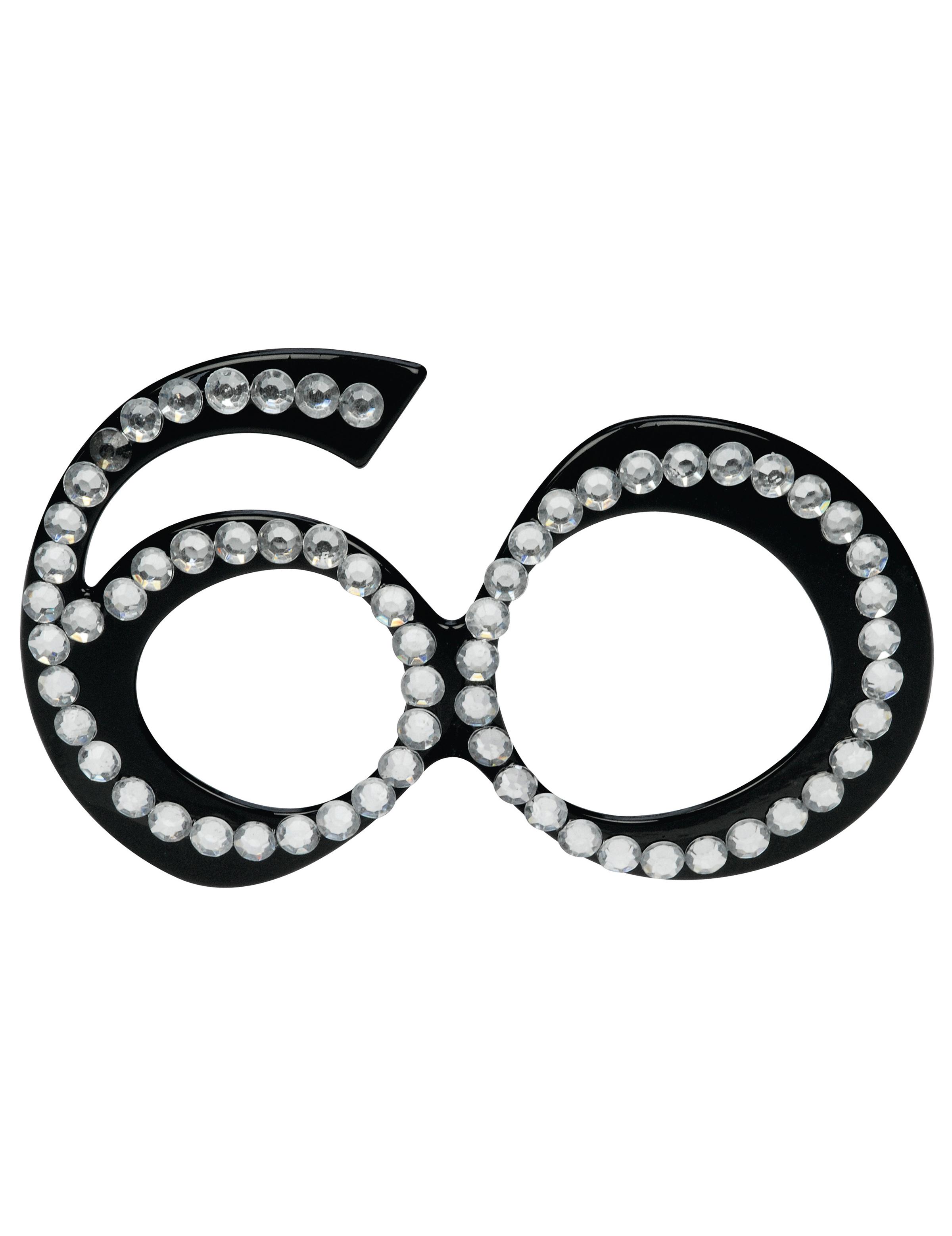 Leuke verjaardag bril voor 60 jaar for Decoratie 60 jaar
