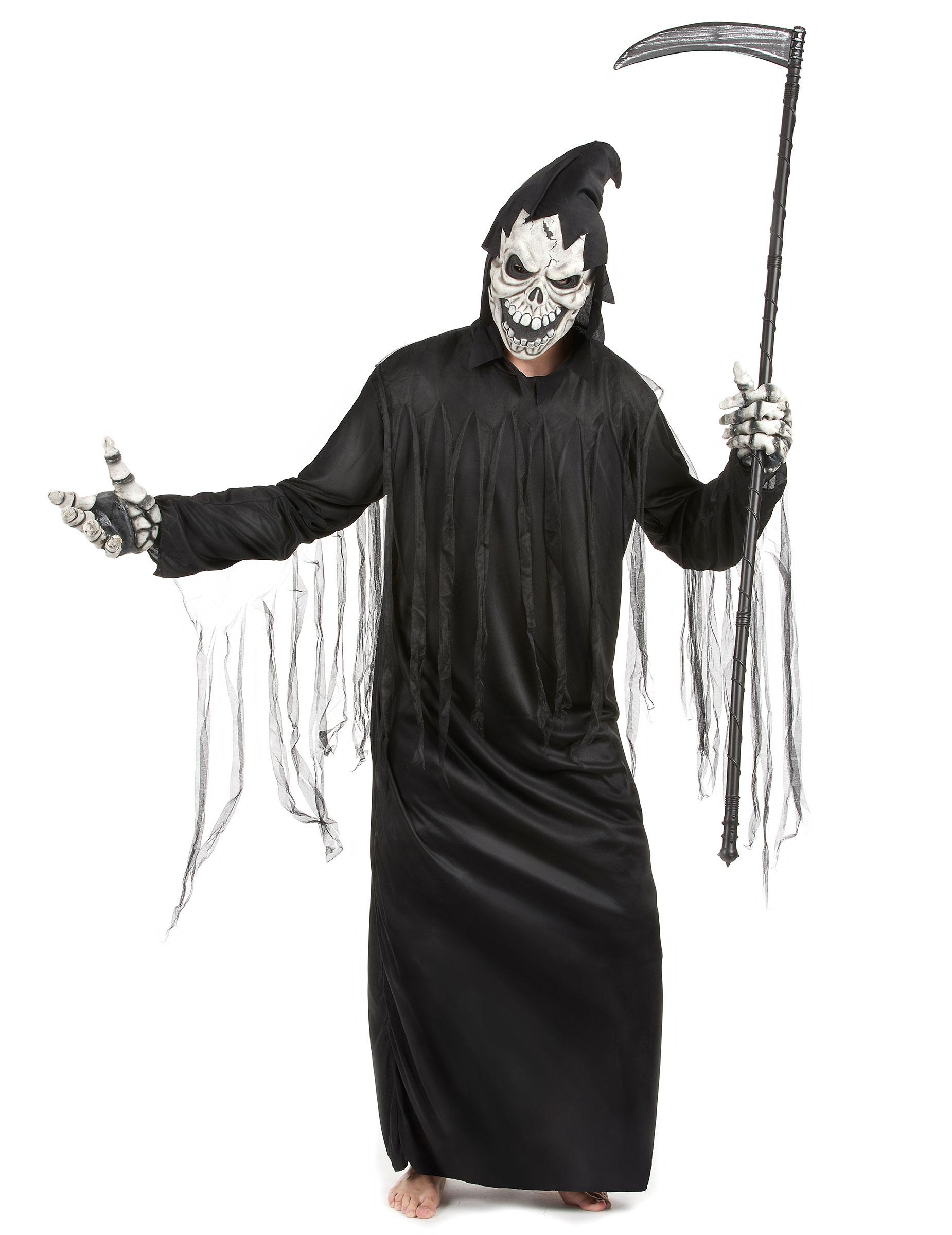 Magere Hein Reaper Kostuum Voor Volwassenen