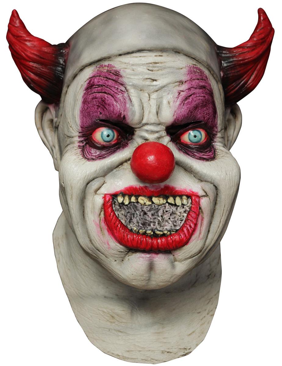 Horror Clown Halloween Masker Voor Volwassenen