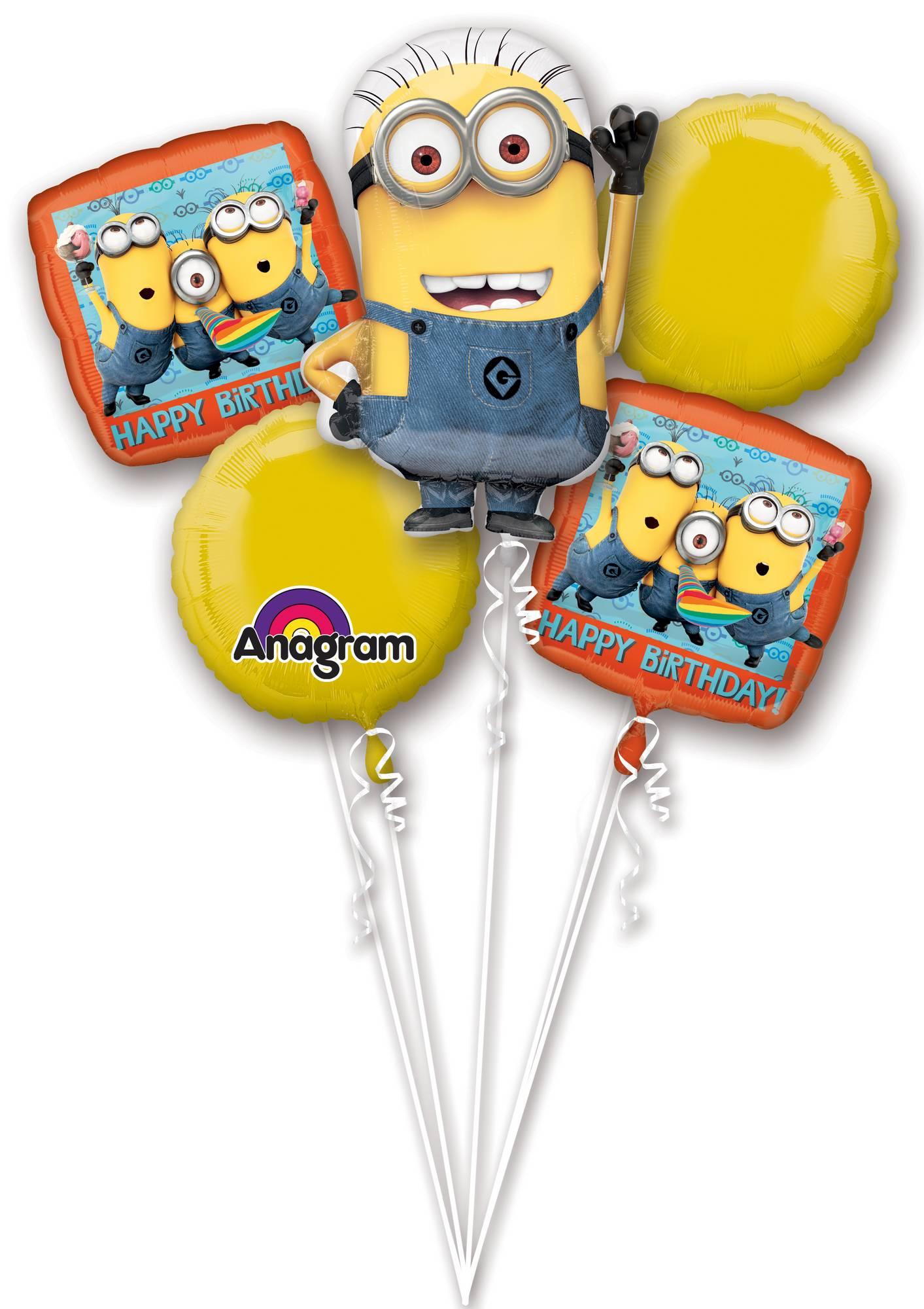 Verjaardag Ballonnen Van De Minions Decoratie En Goedkope