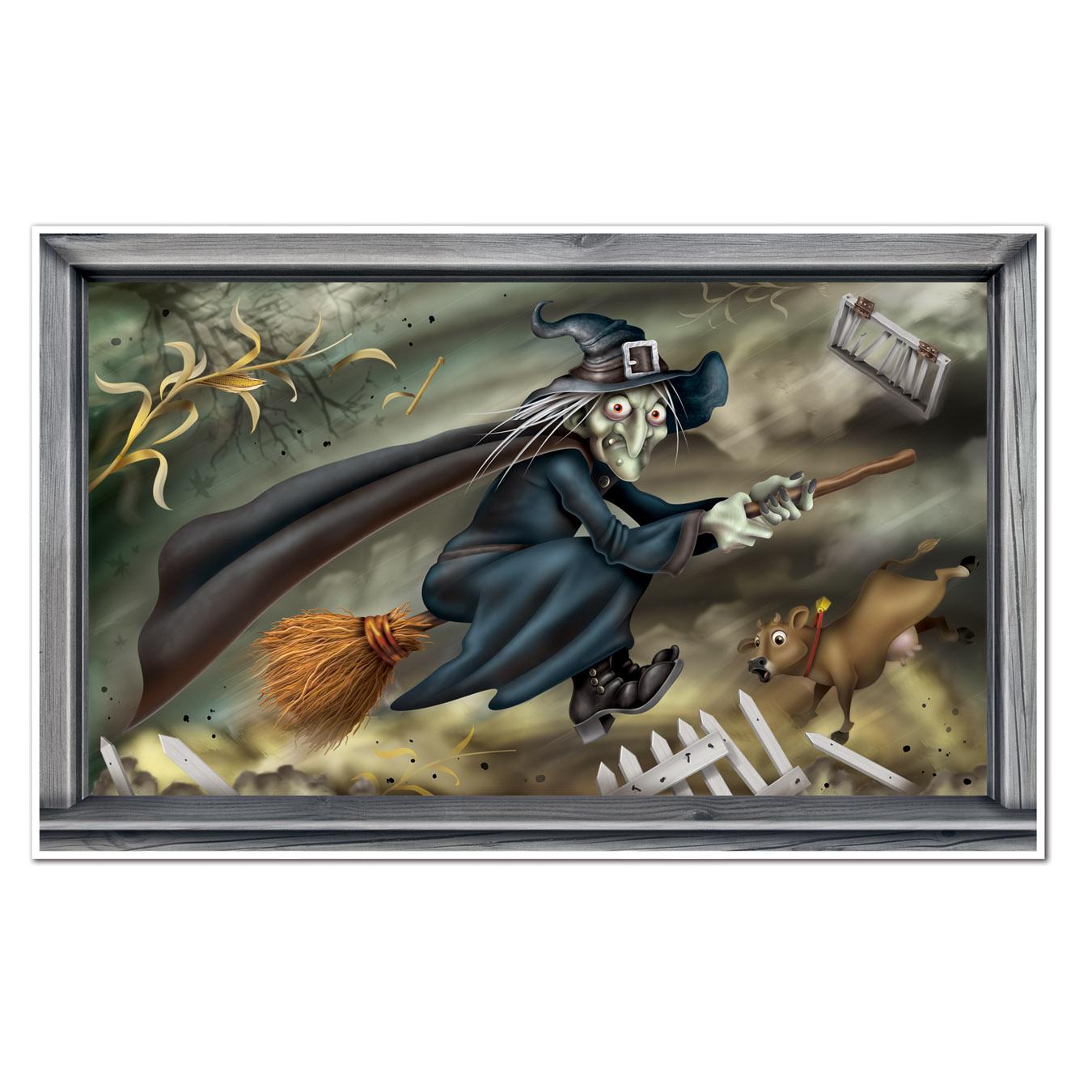 Vliegende heks decoratie voor halloween decoratie en goedkope carnavalskleding vegaoo - Decoratie voor halloween is jezelf ...