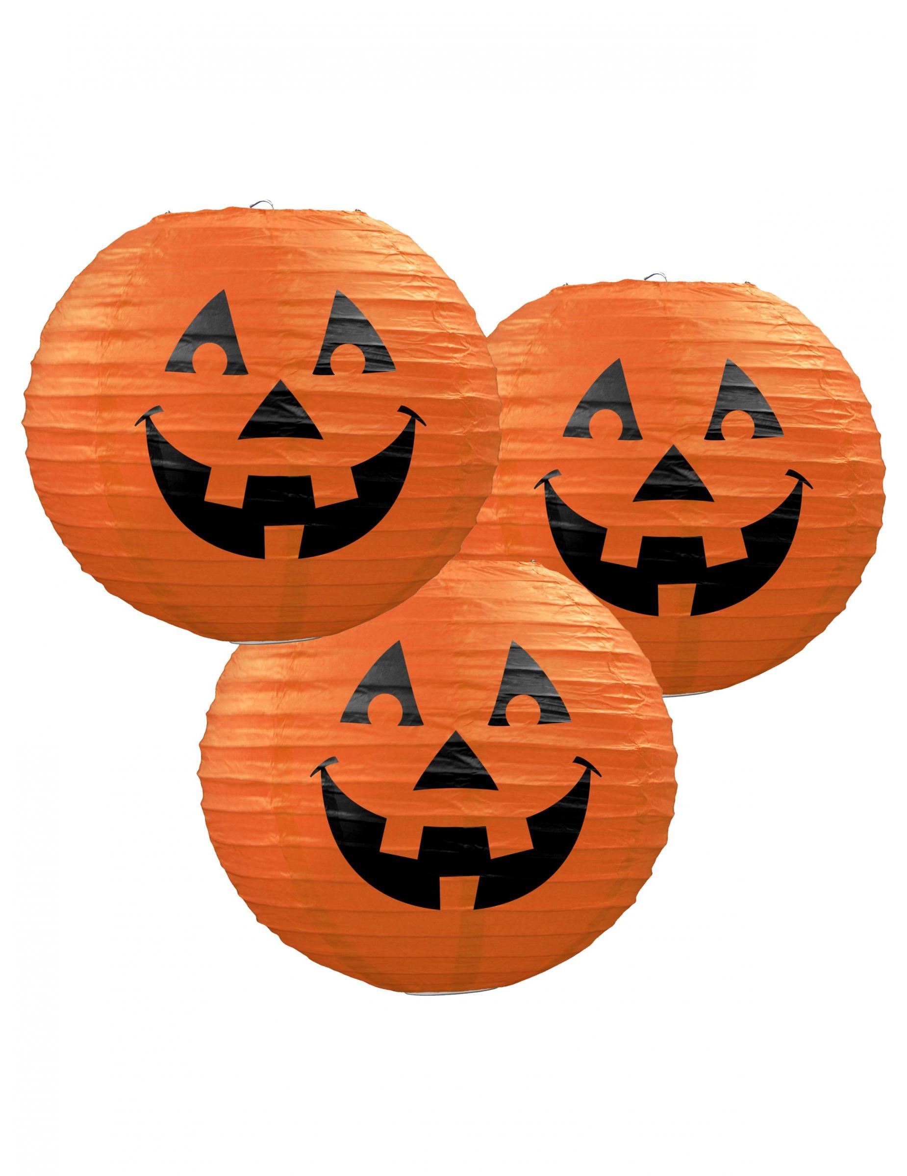 Pompoen Voor Halloween.Papieren Lantaarns Pompoen Halloween
