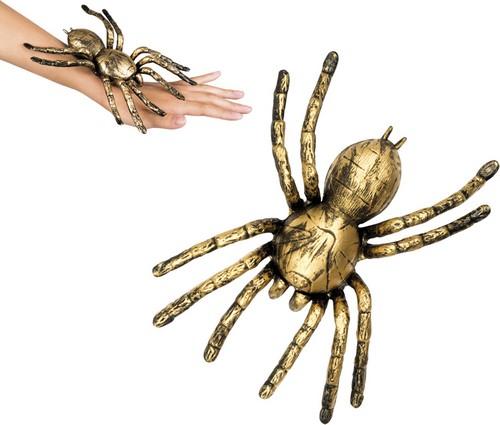 Goudkleurig spin decoratie decoratie en goedkope for Goedkope decoratie
