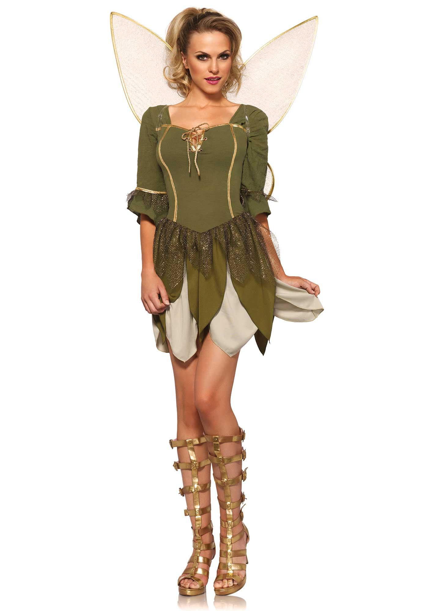 Fee Kostuum Dames.Groen Bos Feeen Kostuum Voor Vrouwen