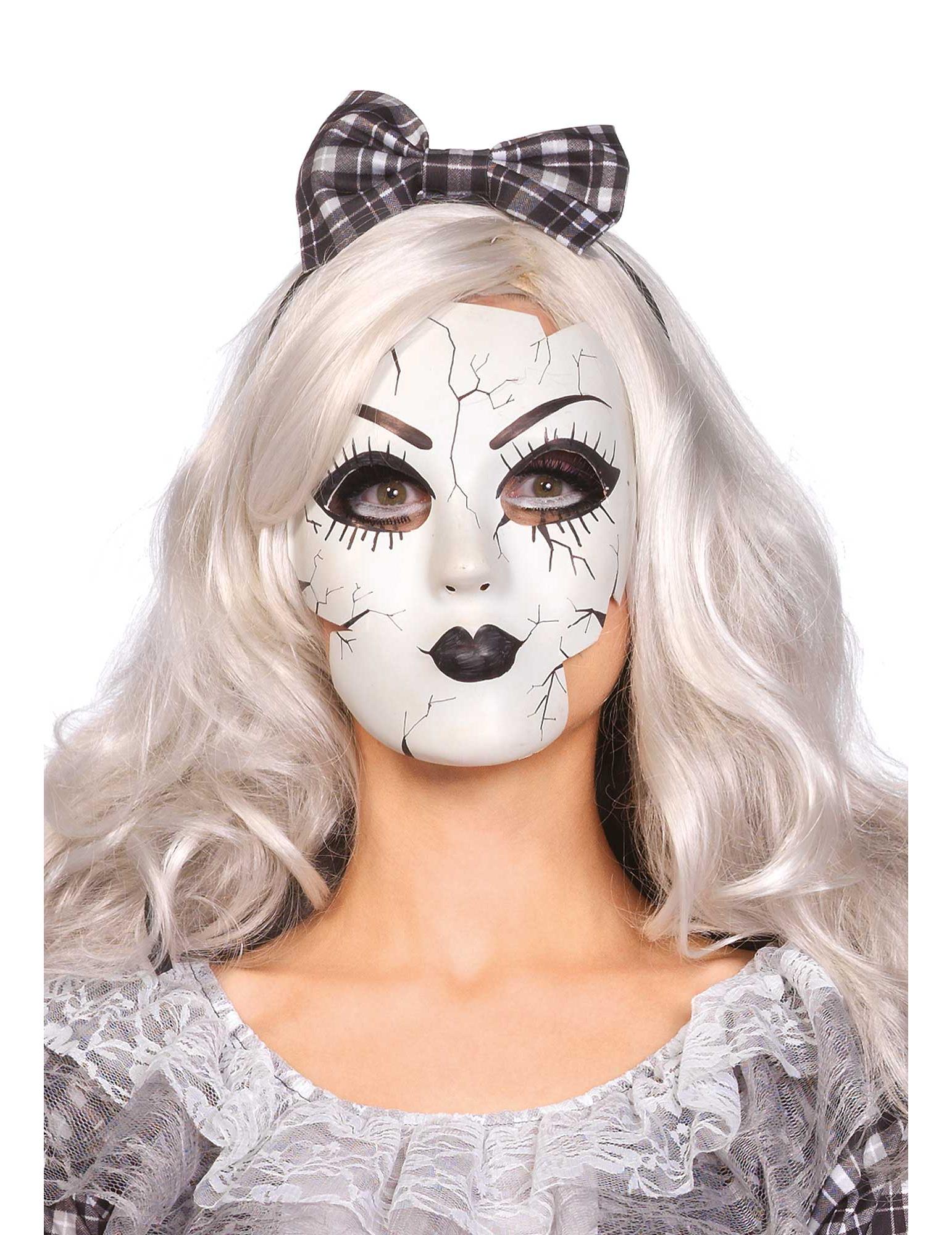 halloween masker van porseleinen pop vegaoonl