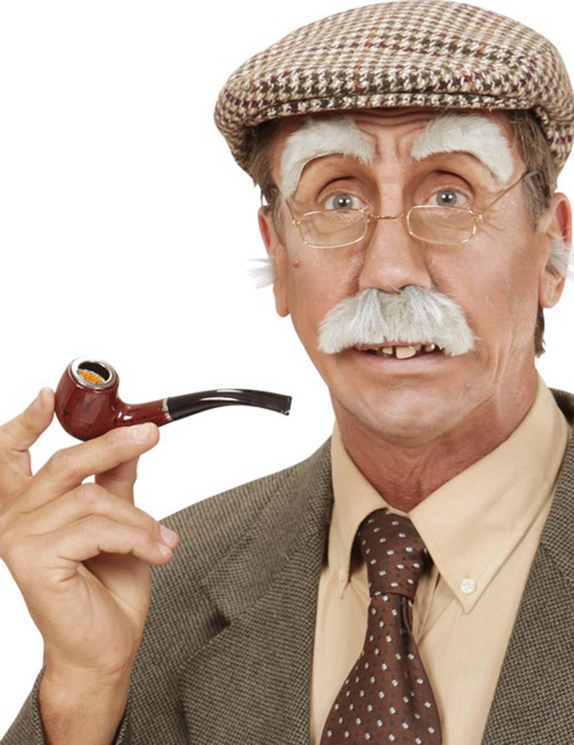 Oude Man Snor En Wenkbrauwen Accessoires En Goedkope