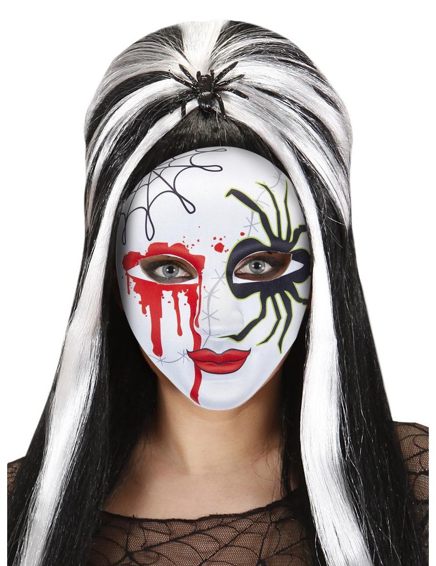 halloween spinne schminken makeup tattoo halloween schminke schnell und einfach with schnelles. Black Bedroom Furniture Sets. Home Design Ideas