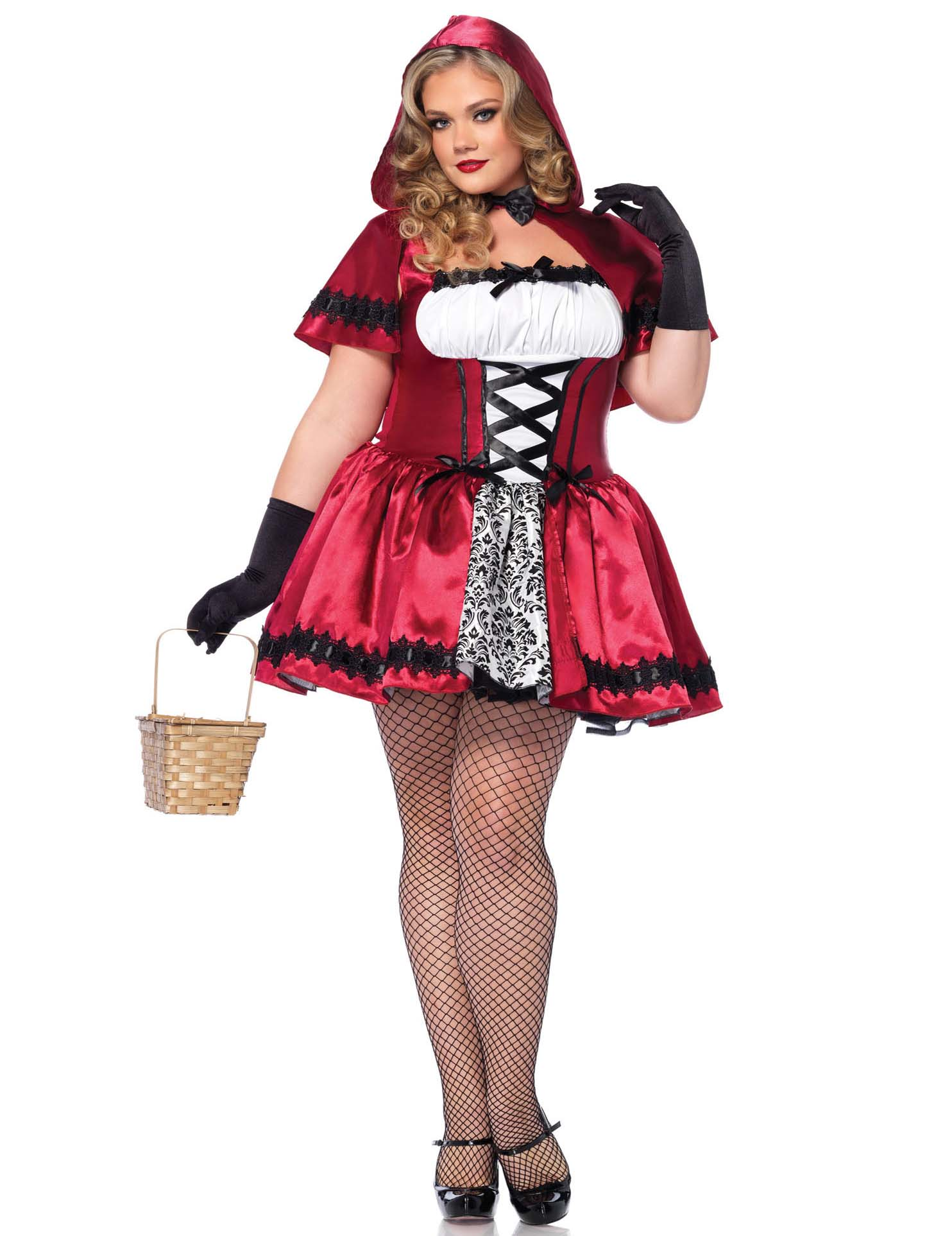 Carnavalskleding Grote Maten Dames.Grote Maat Roodkapje Carnavalskleding Voor Dames Vegaoo Nl