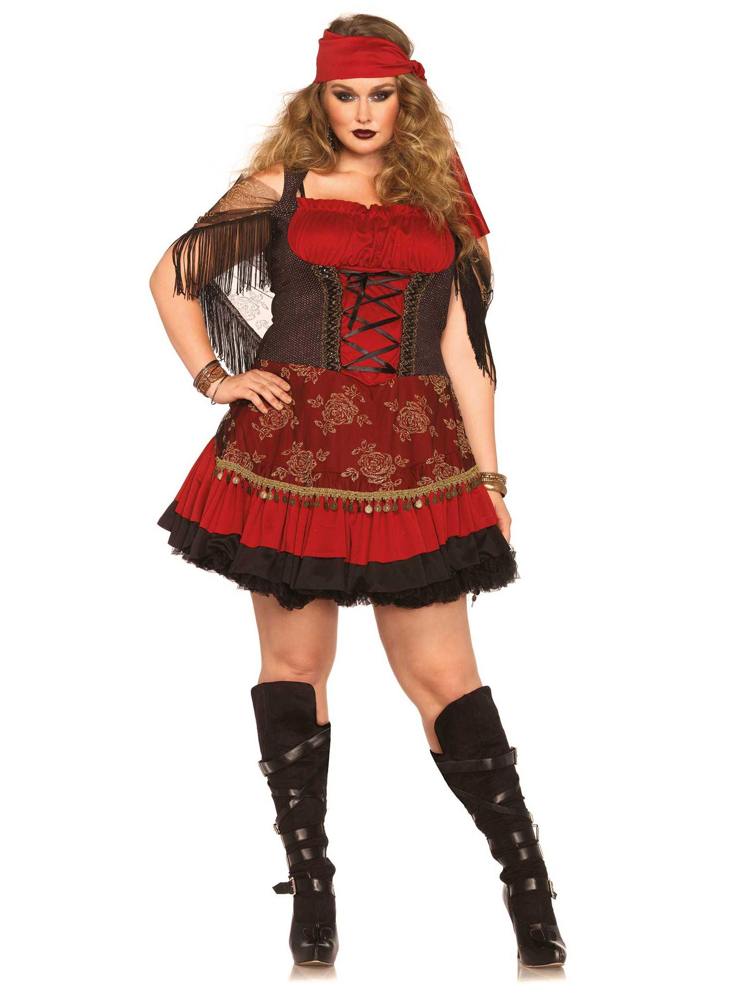 Carnavalskleding Grote Maten Dames.Zigeuner Kostuum Grote Maat Voor Vrouwen Volwassenen Kostuums En