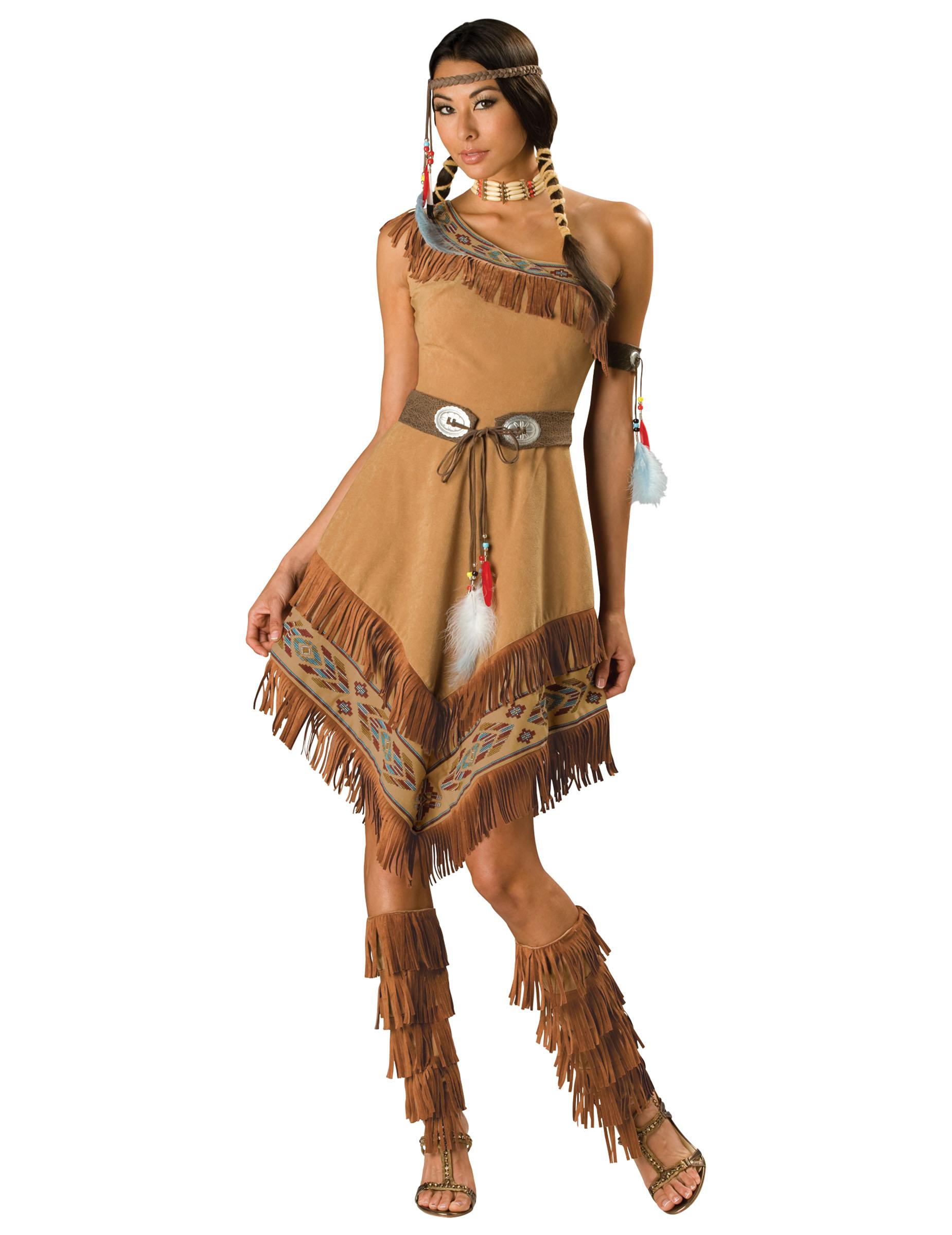 Carnavalskleding Dames Indiaan.Prachtig Indianen Carnavalskleding Voor Dames Vegaoo Nl