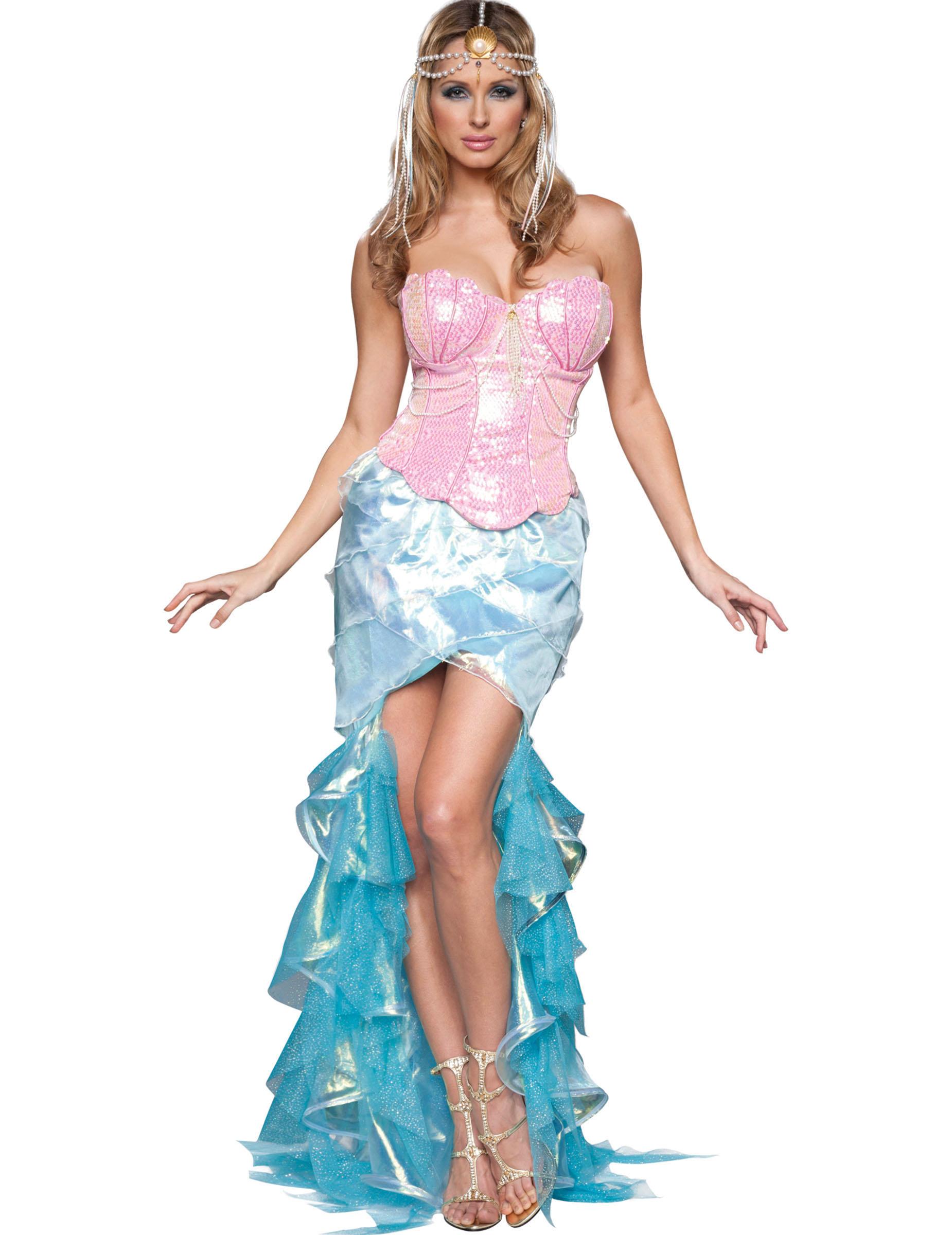 Roze Carnavalskleding Dames.Schitterend Zeemeerminnen Carnavalskleding Voor Dames Vegaoo Nl