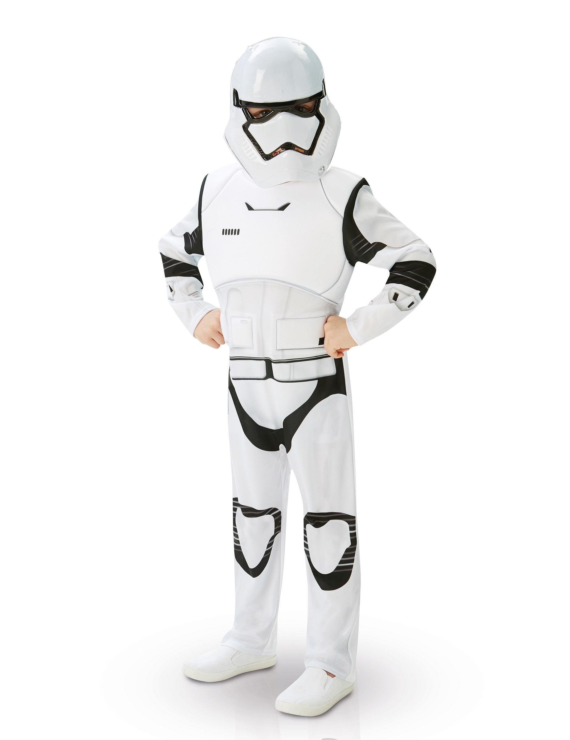 Stormtrooper Star Wars VII™ kostuum voor kinderen