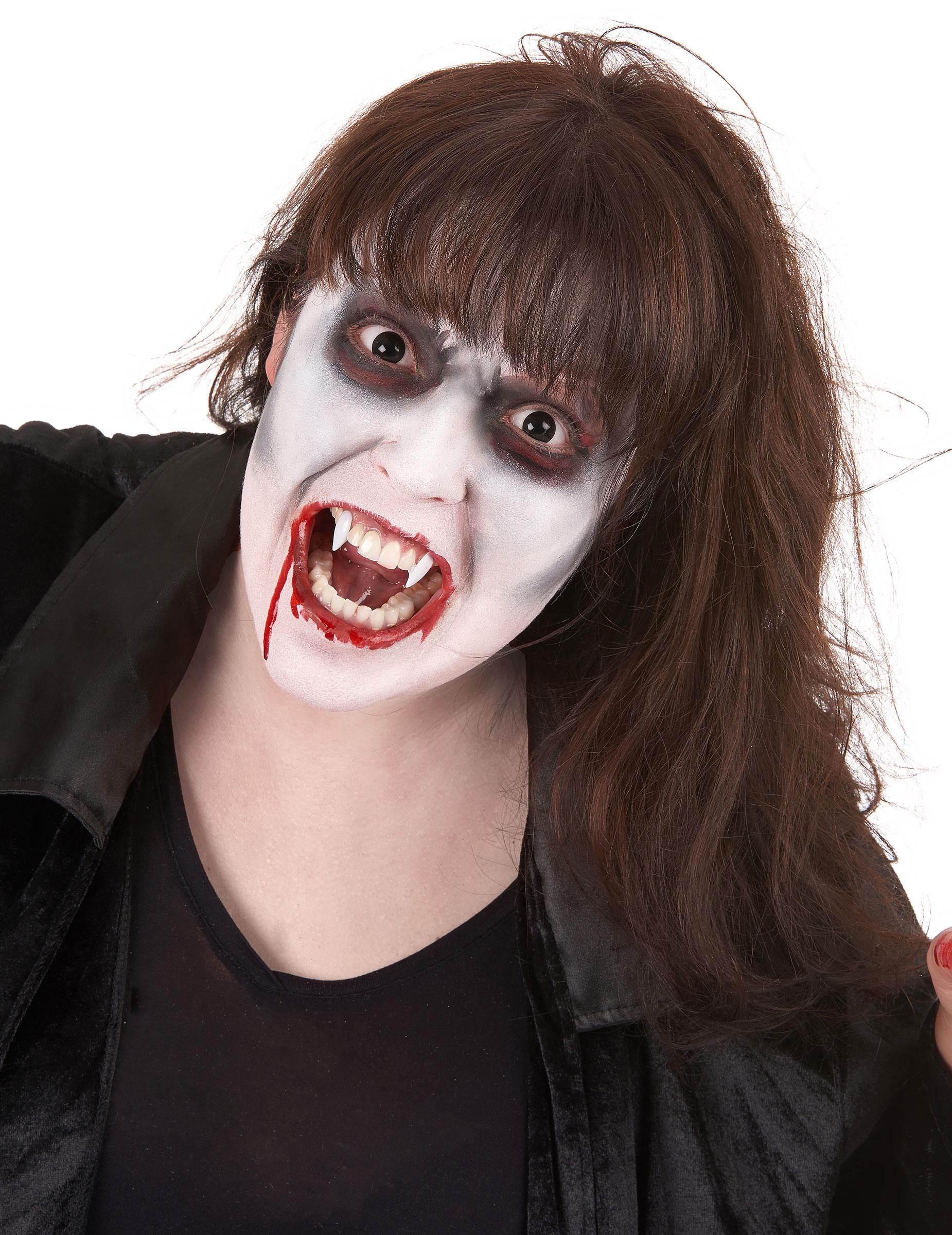 vampier schmink set met lenzen voor volwassenen schmink en goedkope carnavalskleding vegaoo. Black Bedroom Furniture Sets. Home Design Ideas