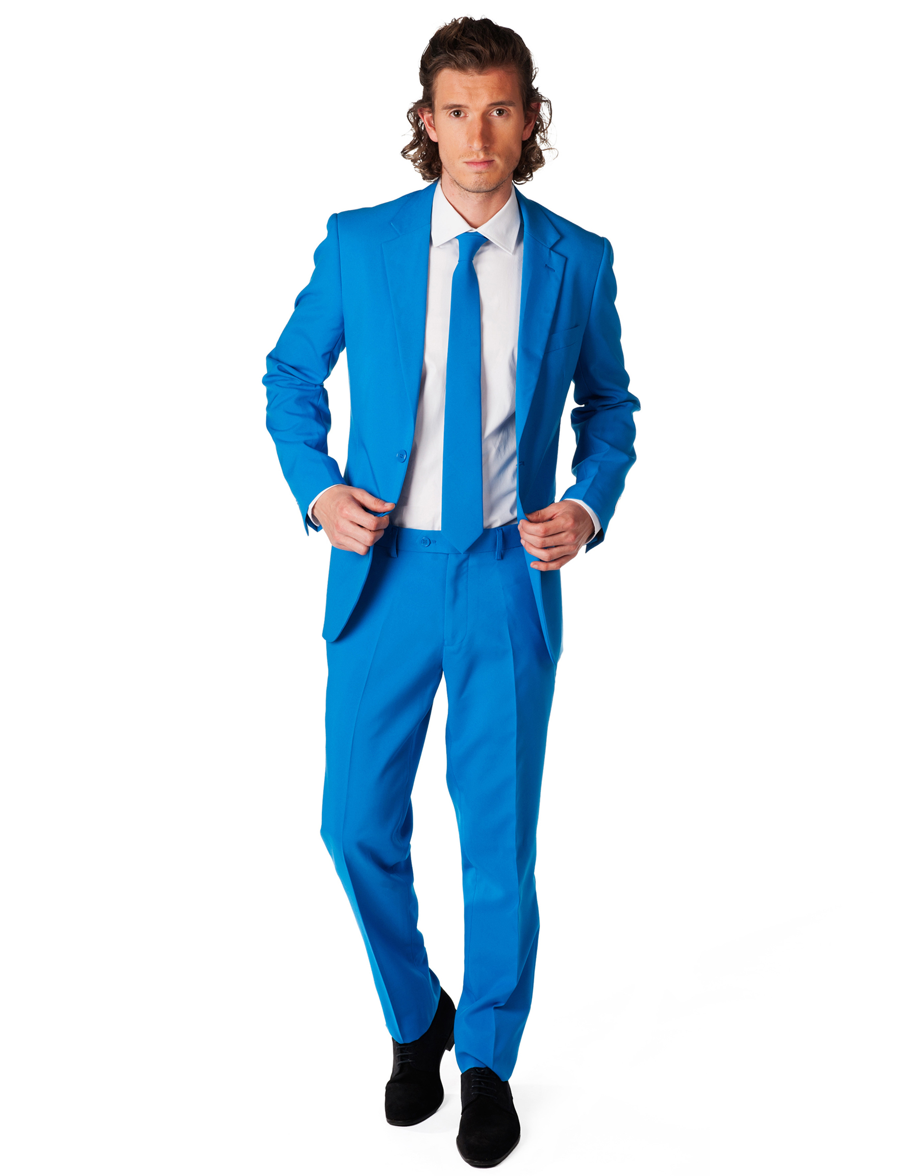 blauw pak mannen