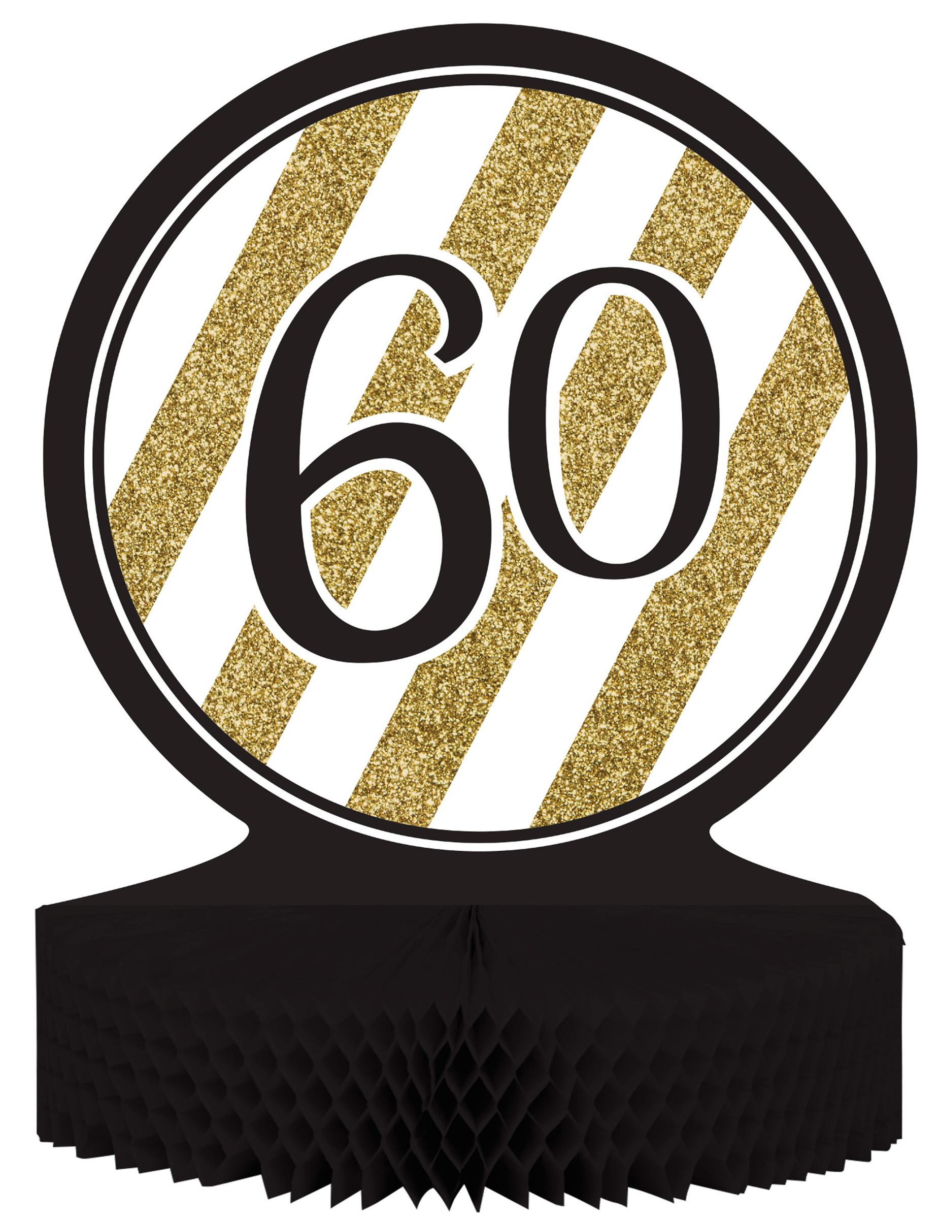 60 jaar verjaardagsdecoratie for Decoratie 60 jaar