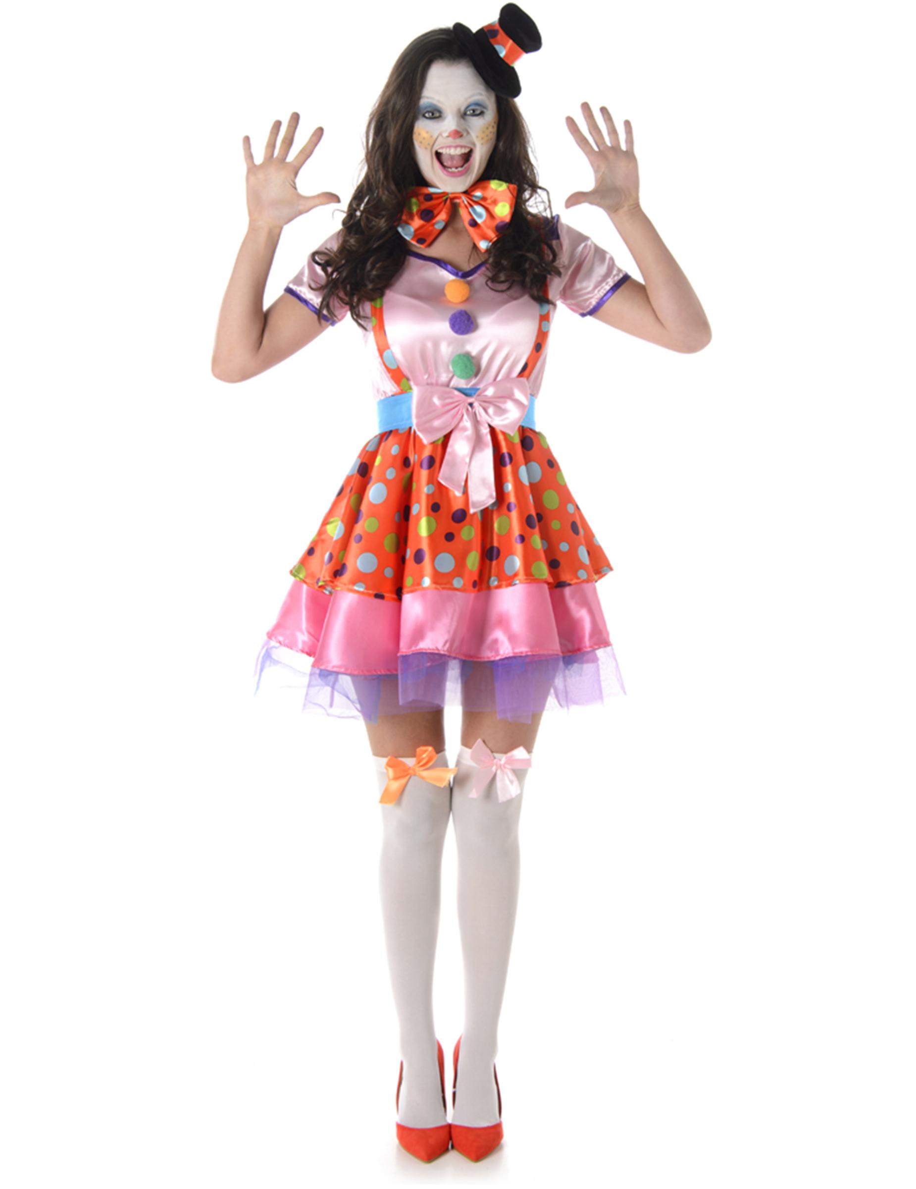 Carnavalskleding Dames Clown.De Leukste Circus En Clown Verkleedkleren Voor Volwassenen Vegaoo Nl